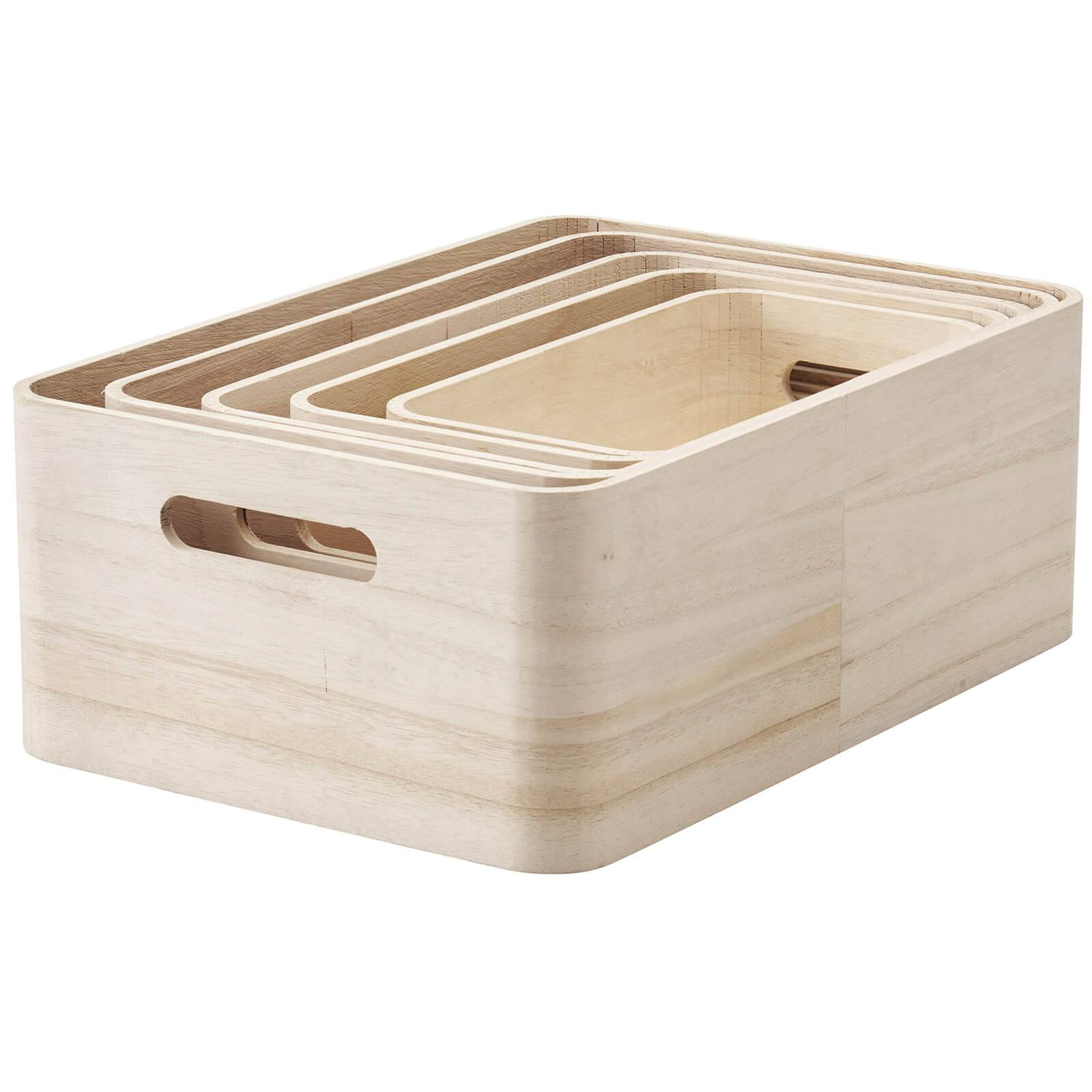 RIG-TIG Save-It Storage Boxes - Set of 5