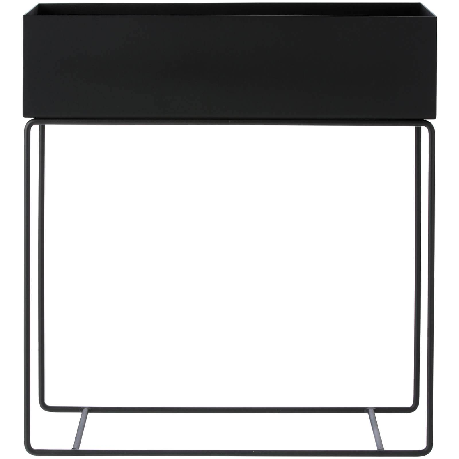 Ferm Living Plant Box and Side Table - Black
