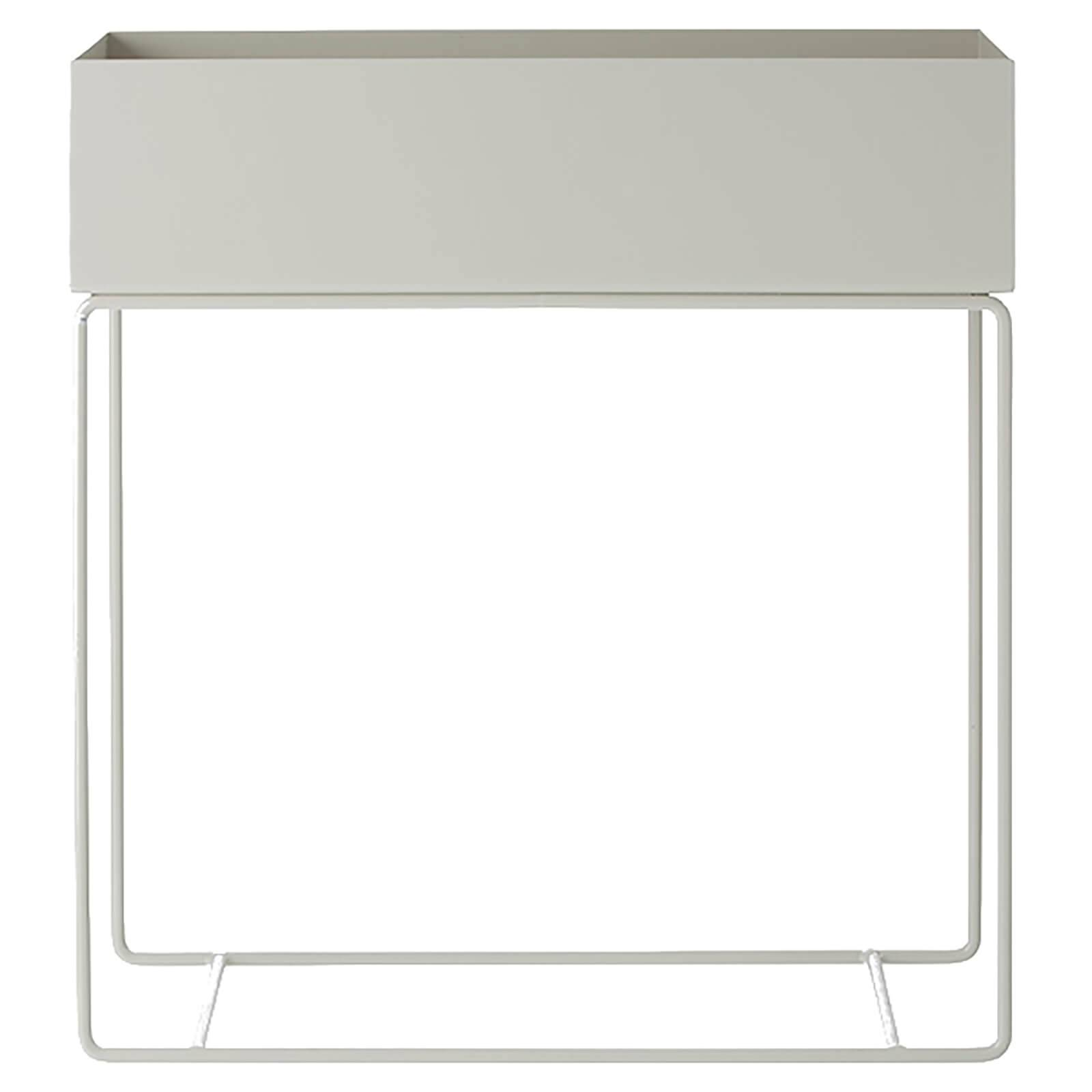 Ferm Living Plant Box and Side Table - Light Grey
