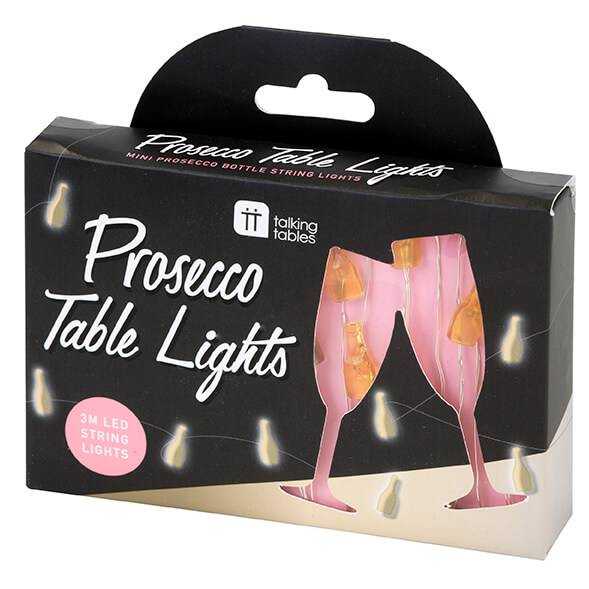 Talking Tables Prosecco LED String Lights