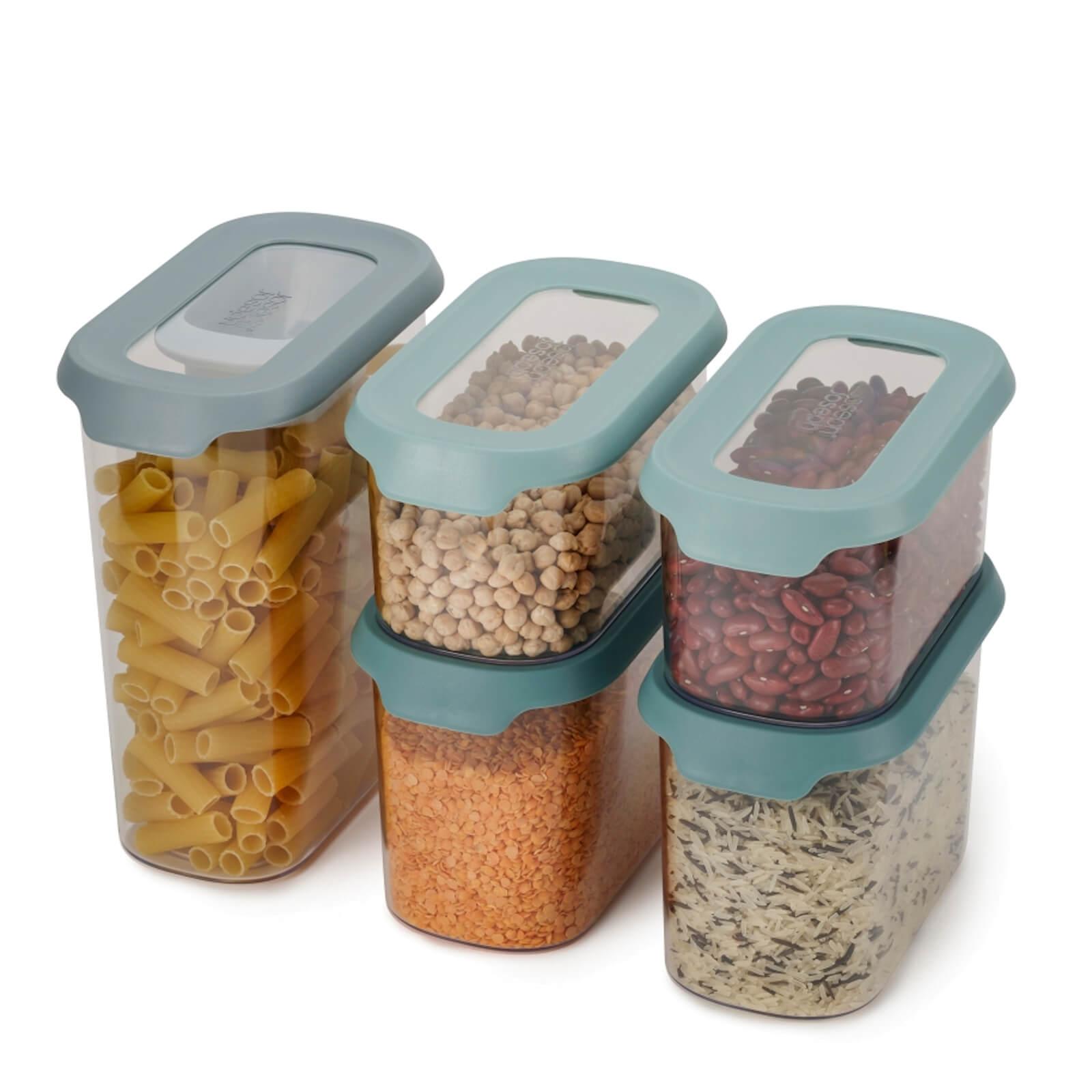 Joseph Joseph CupboardStore 5 Piece Food Storage Set - Opal