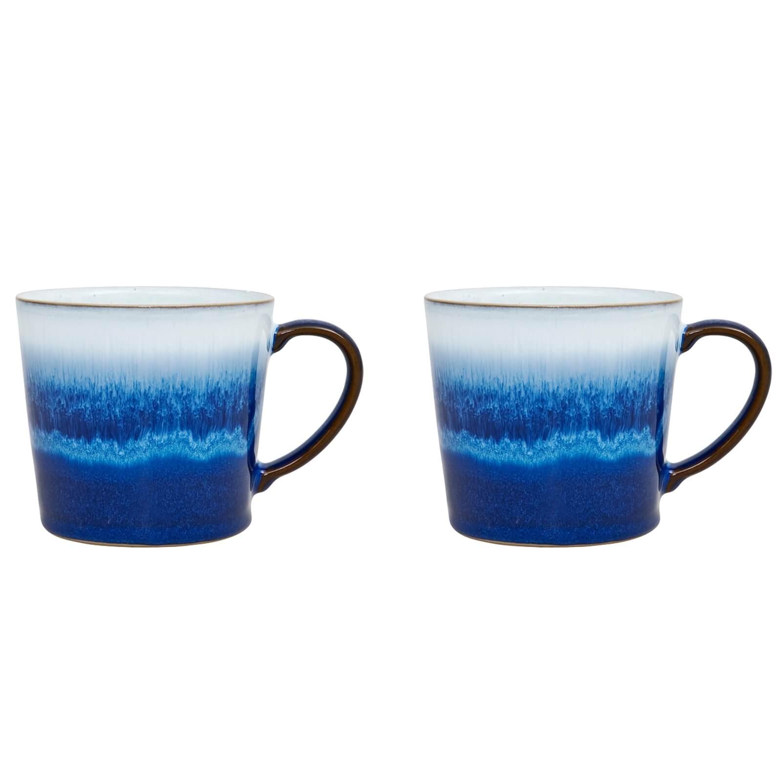 Denby Blue Haze 2 Piece Mug Set