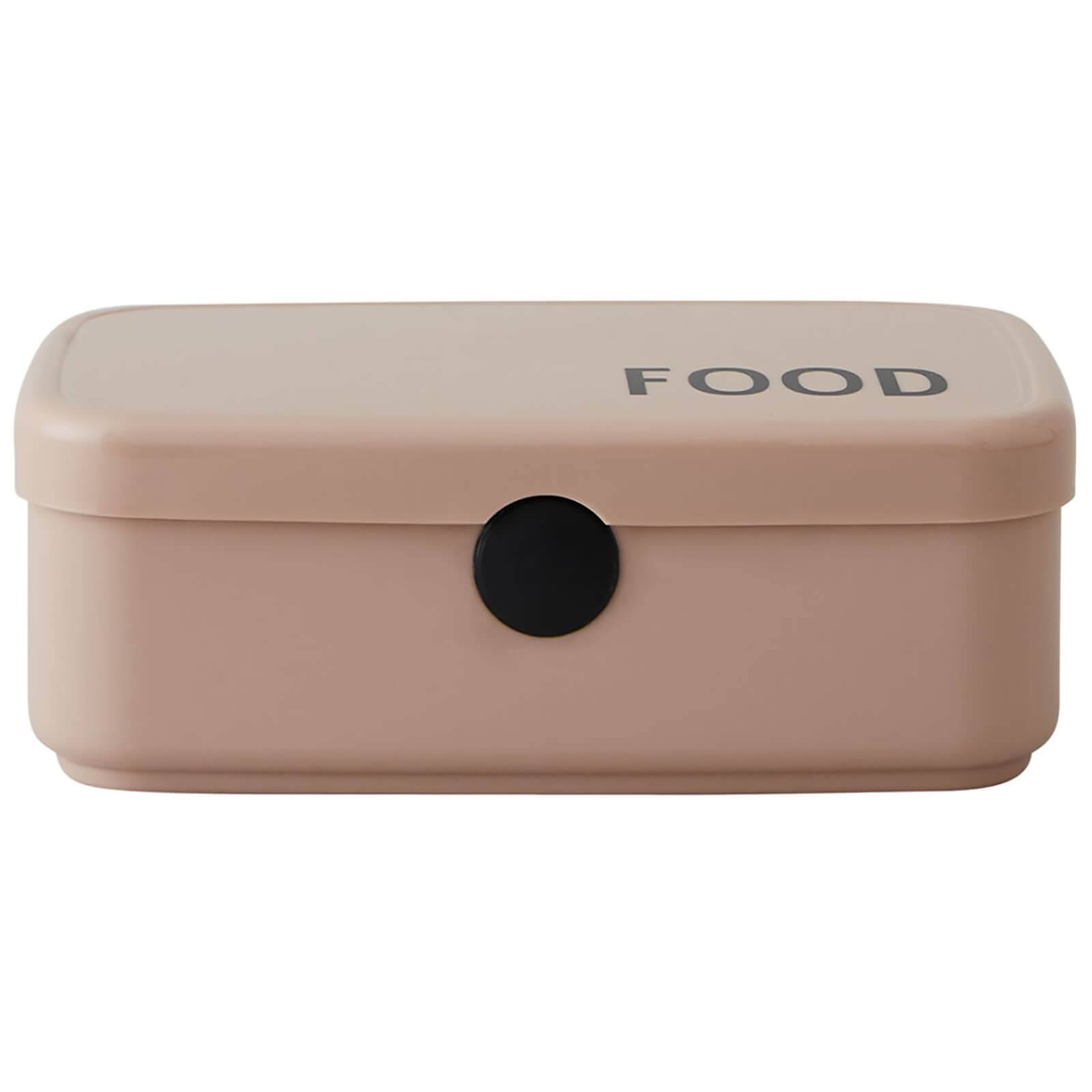 Design Letters Food & Lunch Box - Nude