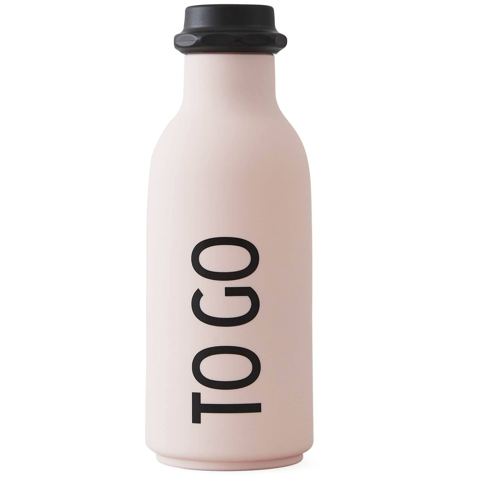 Design Letters To Go Water Bottle - Pink
