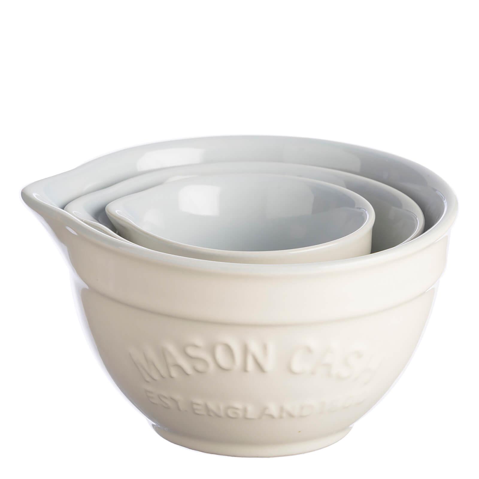 Mason Cash Bakewell Measuring Cups - Cream