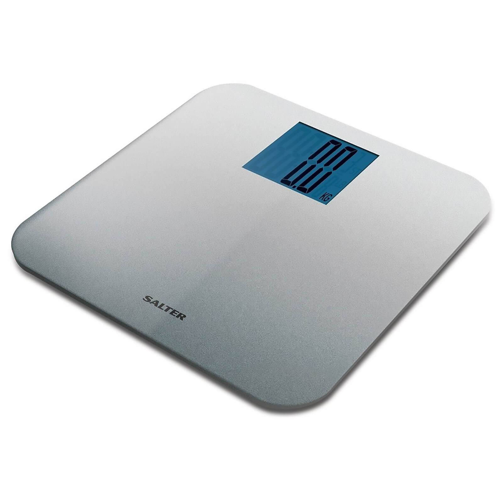 Salter Max Electronic Bathroom Scale - Silver
