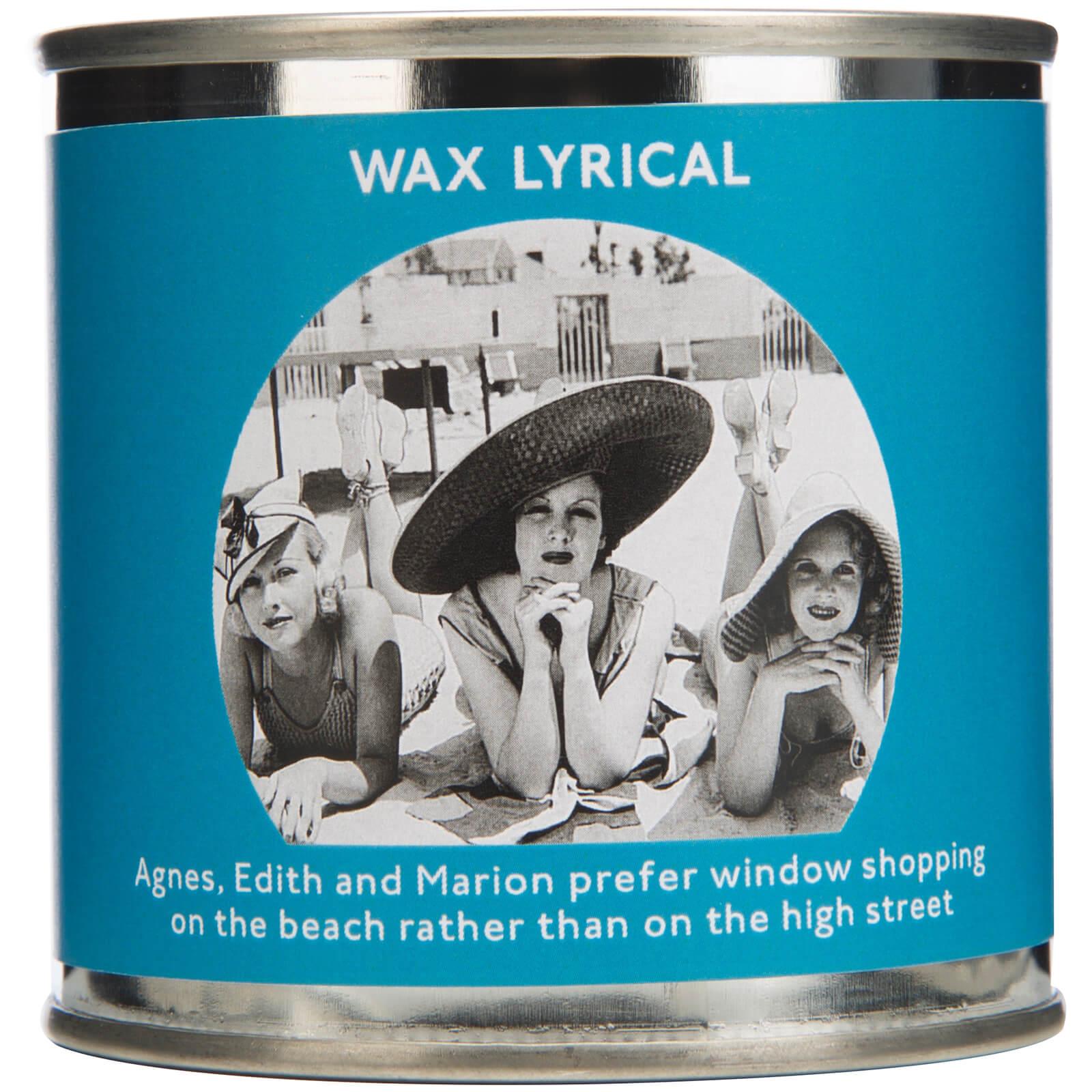 Wax Lyrical Enter-tin-ment Shopping Trip Wax Filled Candle
