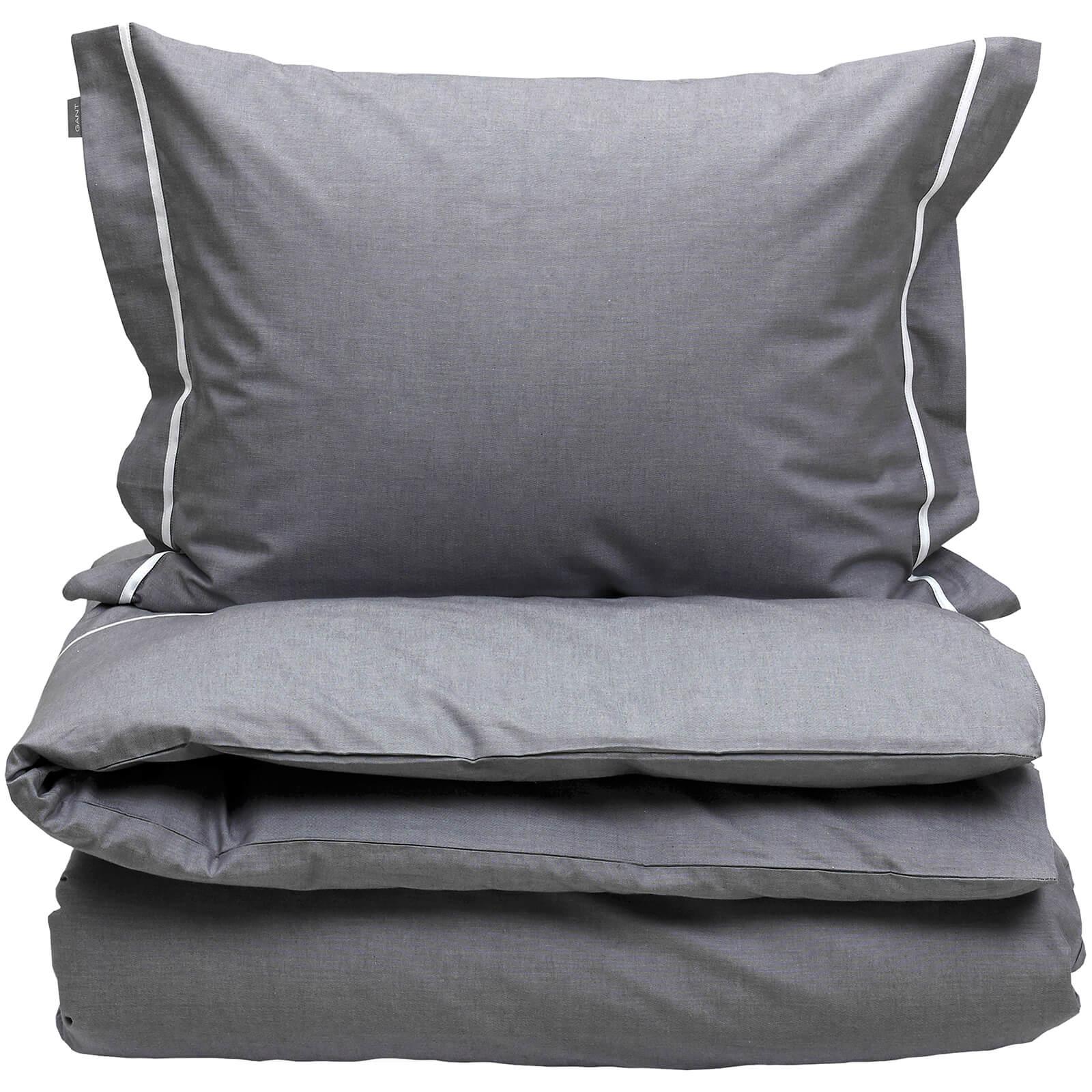 GANT Home New Oxford Duvet Cover - Double - 200 x 200cm - White