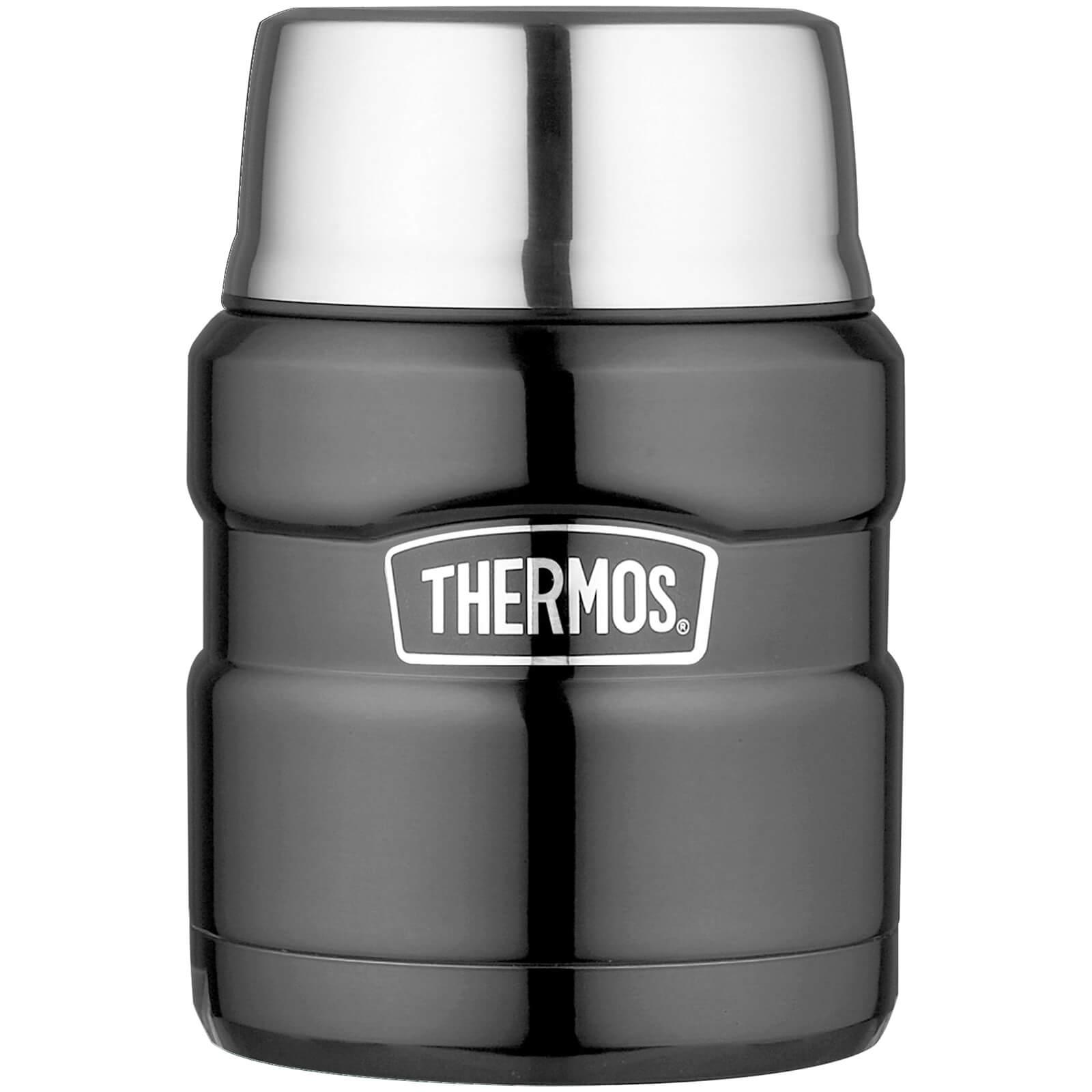Thermos Stainless King Food Flask - Gun Metal 470ml