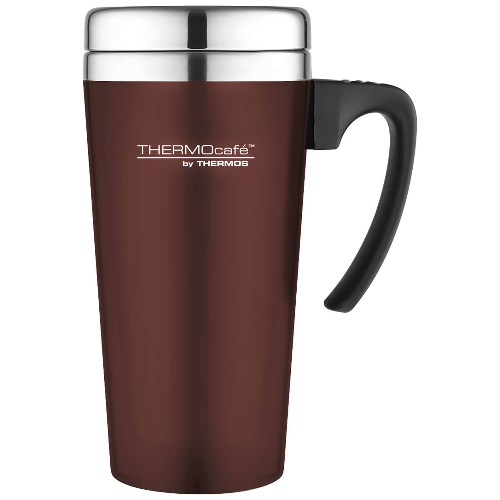 Thermos ThermoCafe Soft Touch Travel Mug - Paprika 420ml