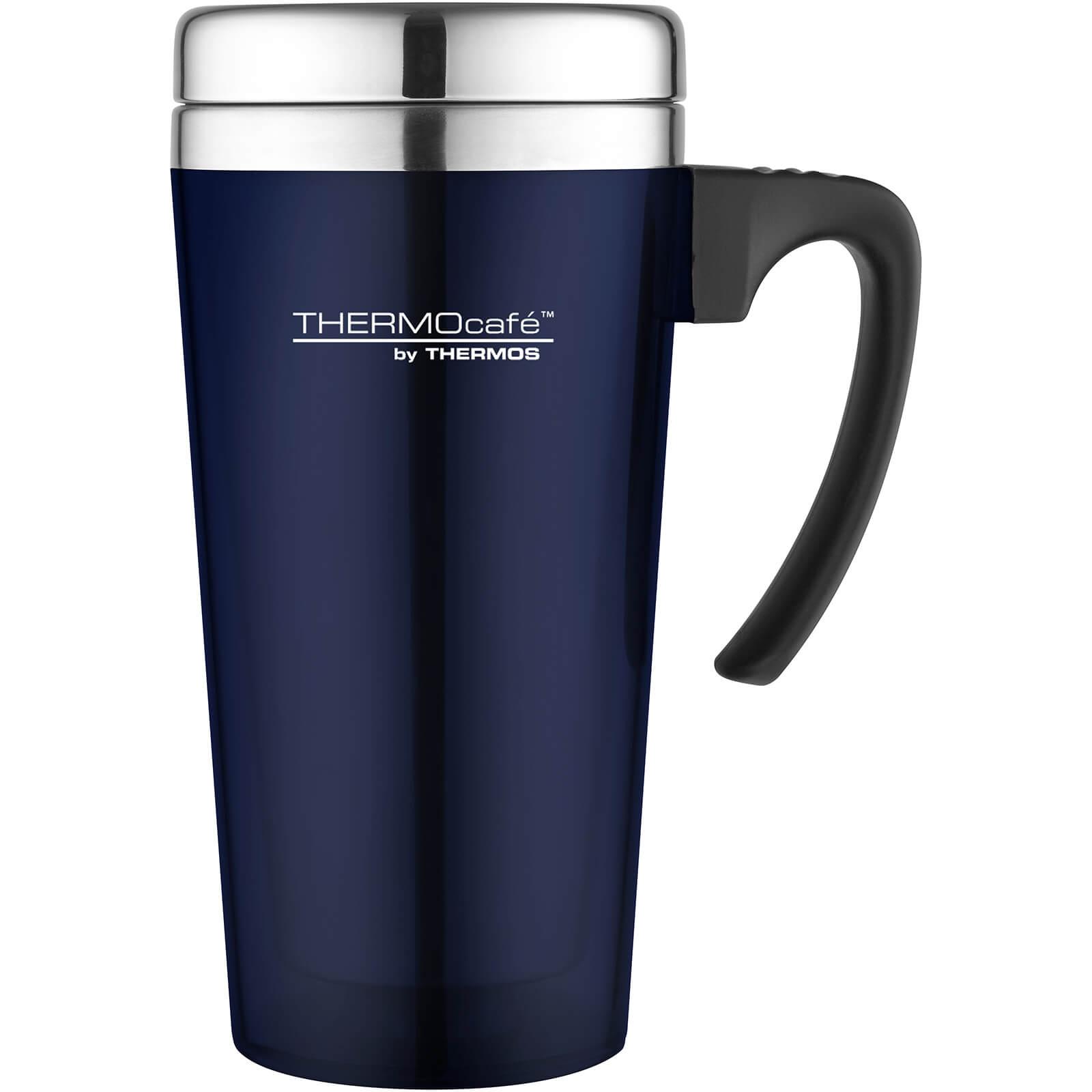 Thermos ThermoCafe Translucent Travel Mug - Blue 420ml