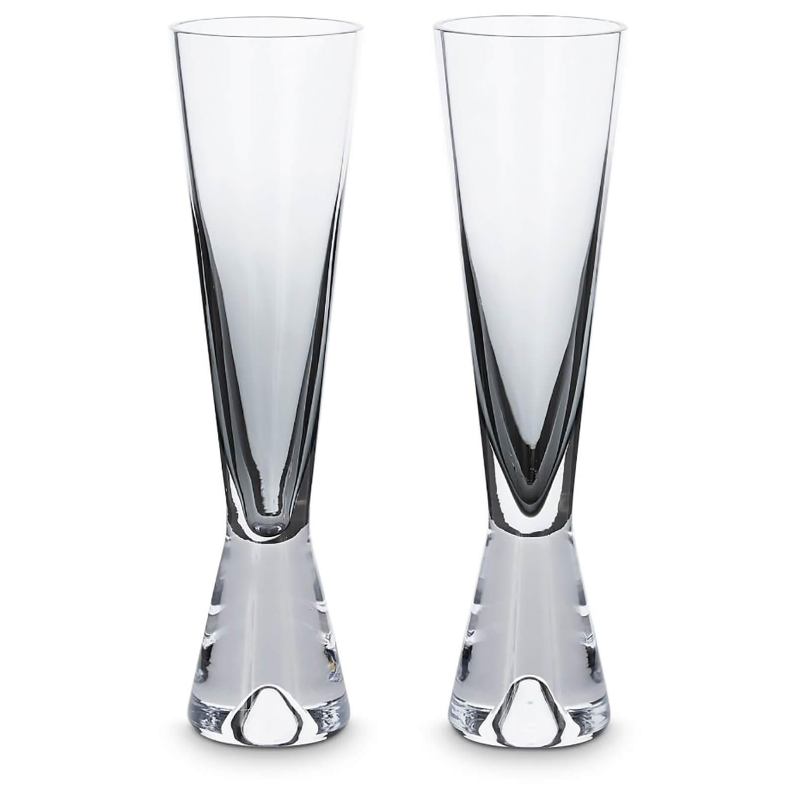 Tom Dixon Tank Champagne Glasses - Black