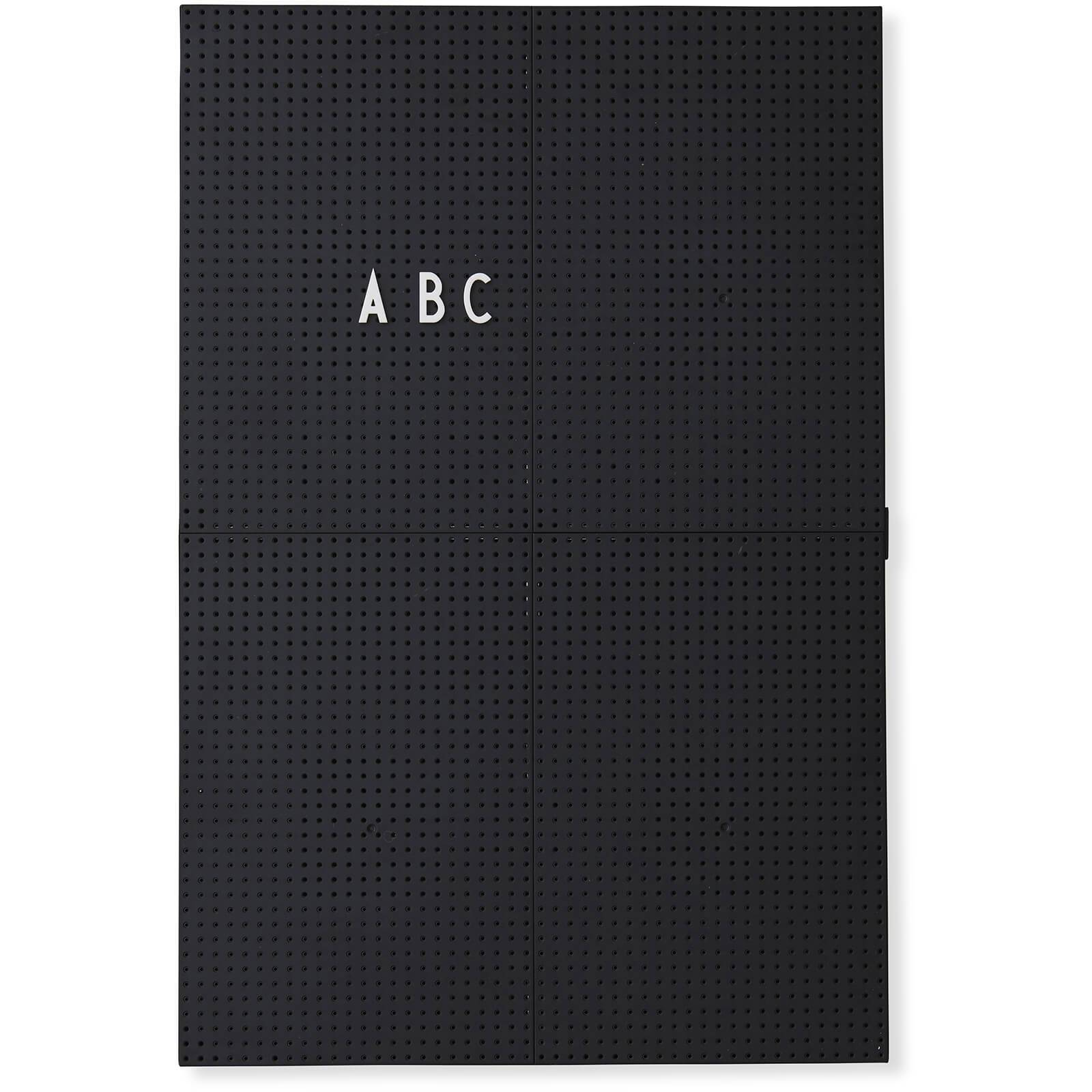 Design Letters A3 Message Board - Black
