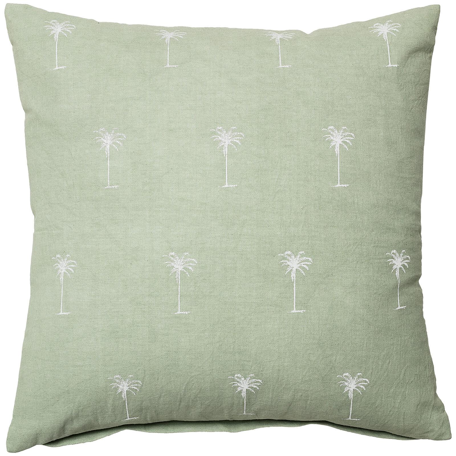 Bloomingville Cotton Cushion - Green