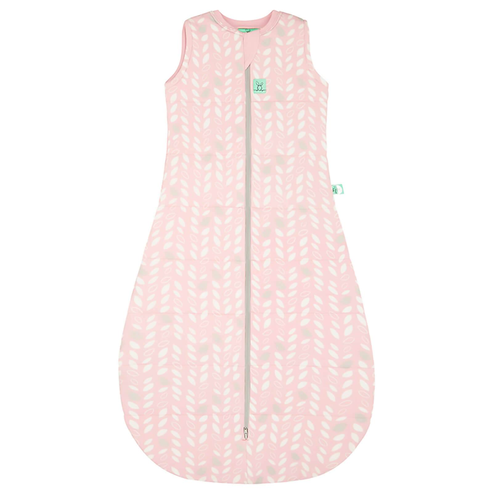 ergoPouch Cocoon Swaddle and Sleep Bag - 2.5 Tog - Spring Leaves - 0-3 months - Pink