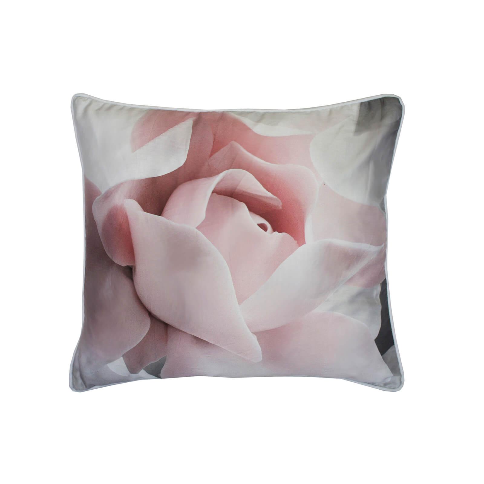 Ted Baker Porcelain Rose Cushion - Pink
