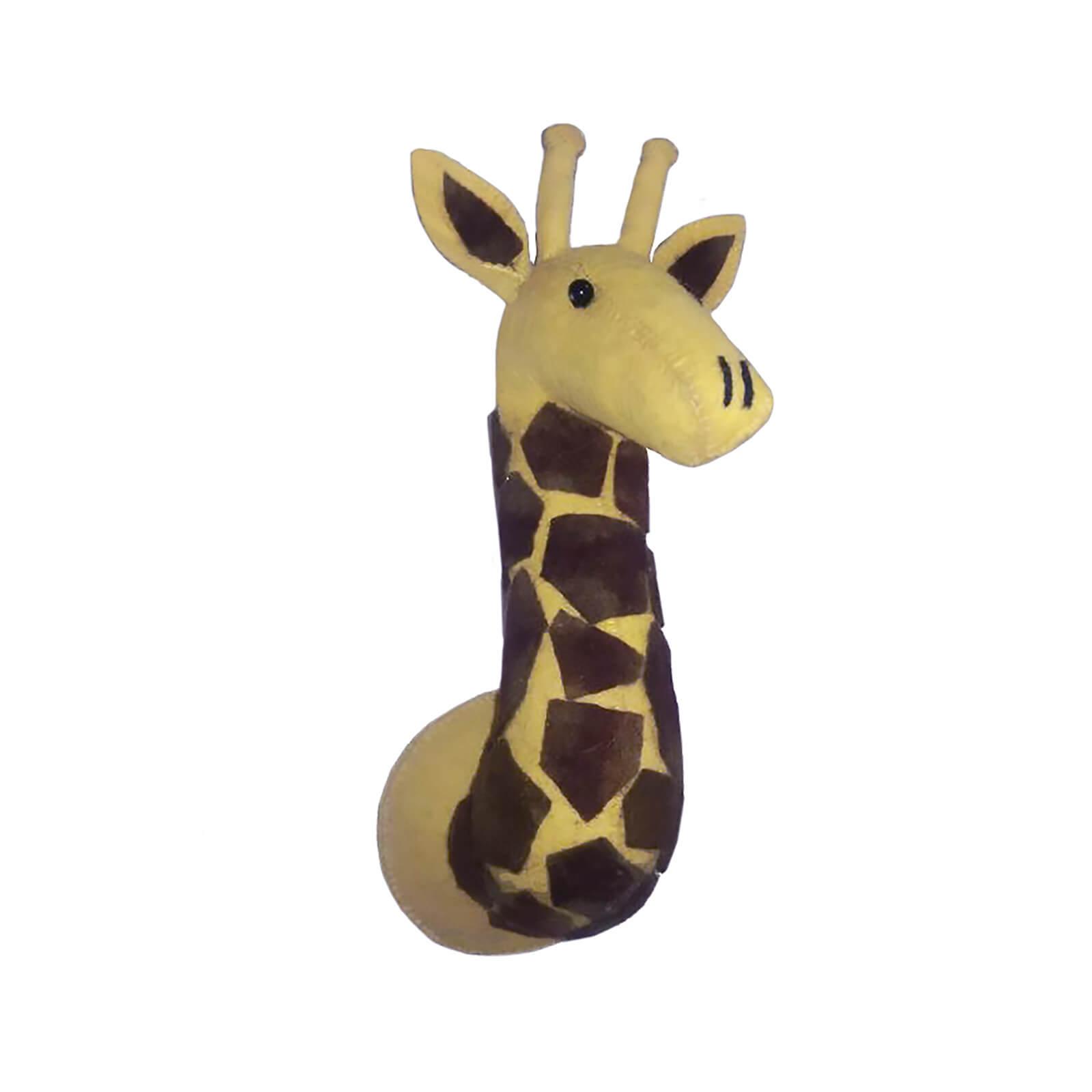 Fiona Walker England Mini Giraffe Wall Hanging Head