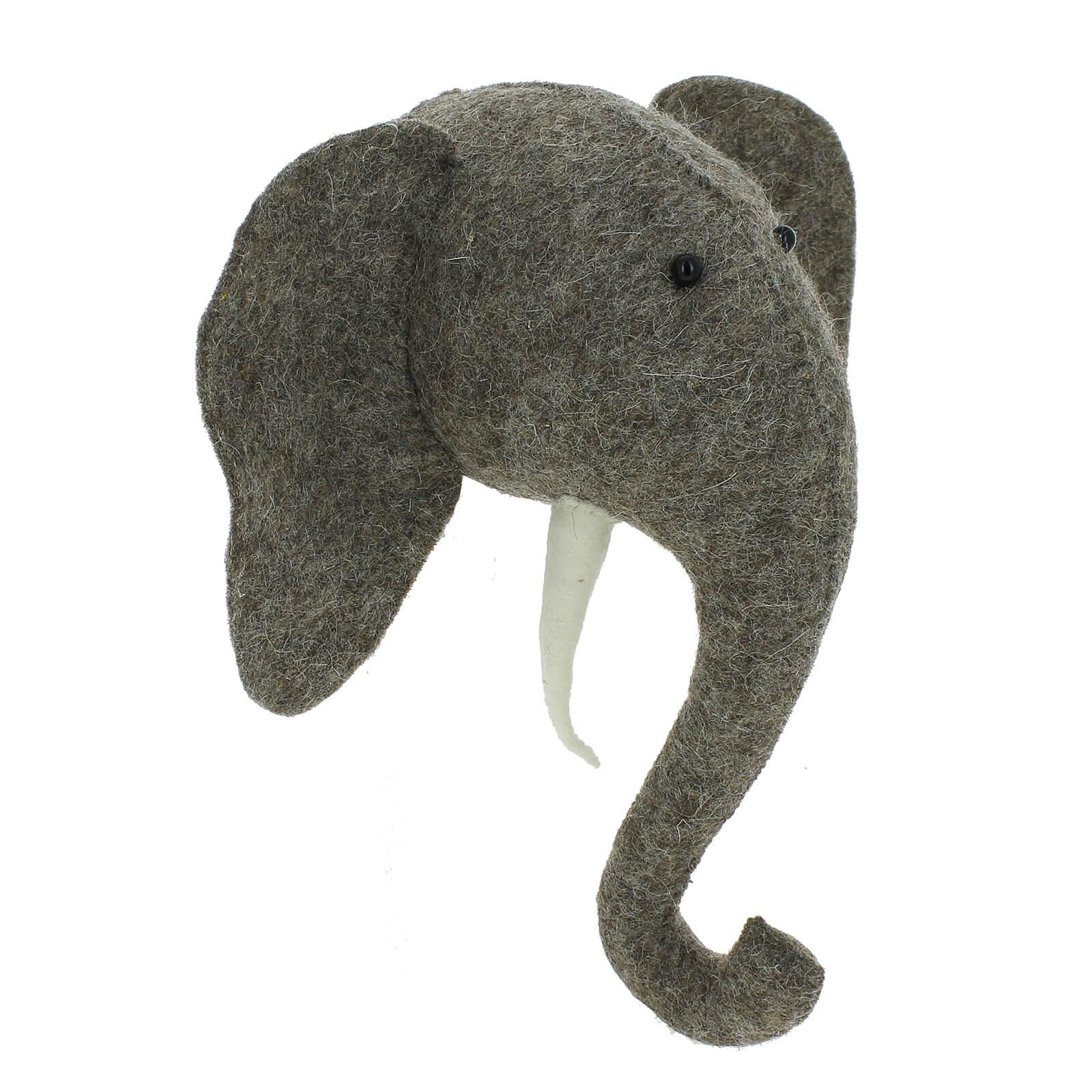 Fiona Walker England Mini Wall Hanging Elephant