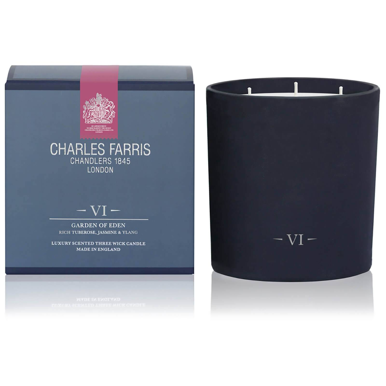 Charles Farris Signature Garden of Eden 3 Wick Candle 1475g