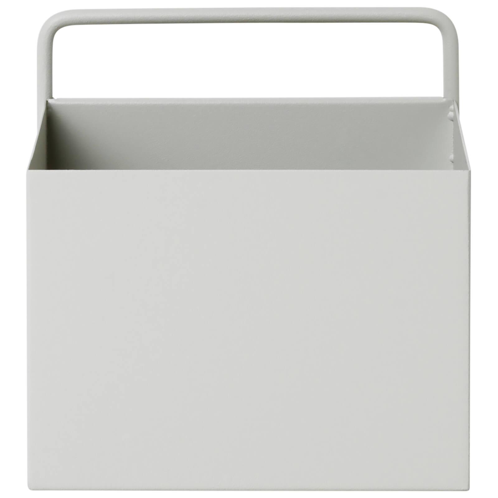 Ferm Living Wall Box - Square - Light Grey