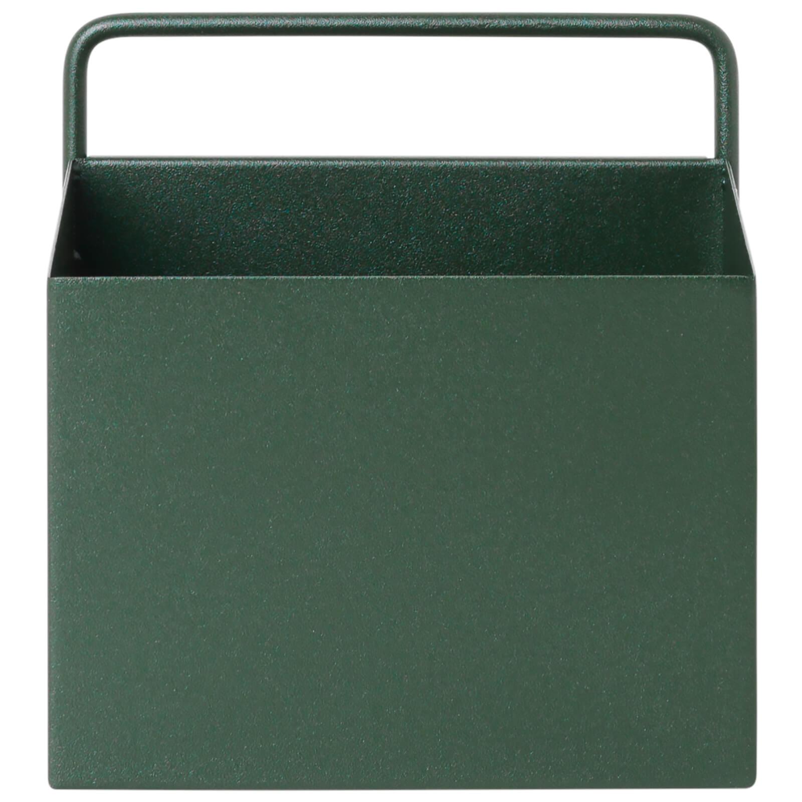 Ferm Living Wall Box - Square - Dark Green