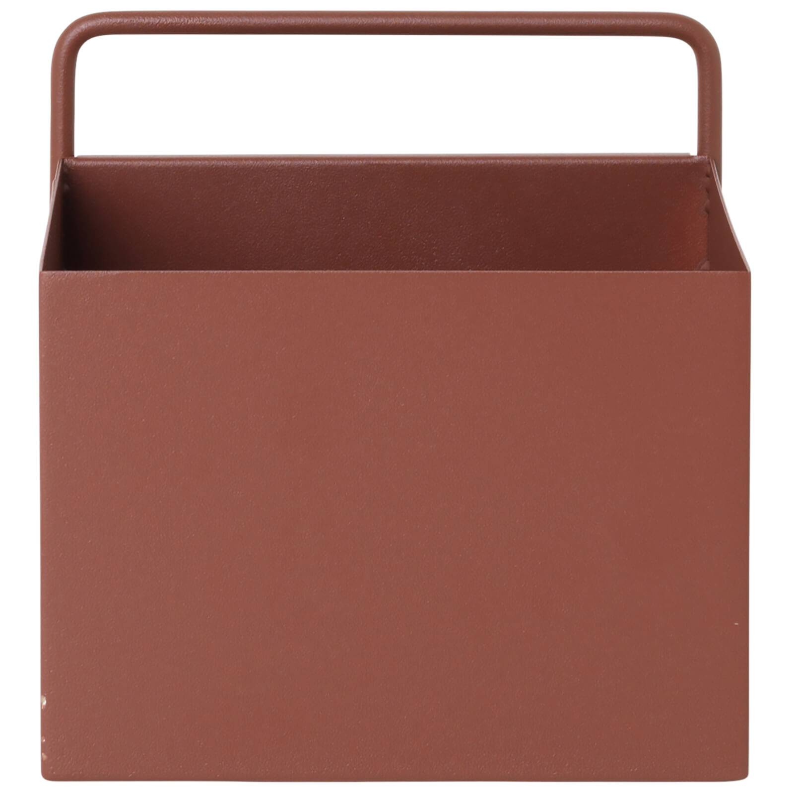 Ferm Living Wall Box - Square - Red/Brown