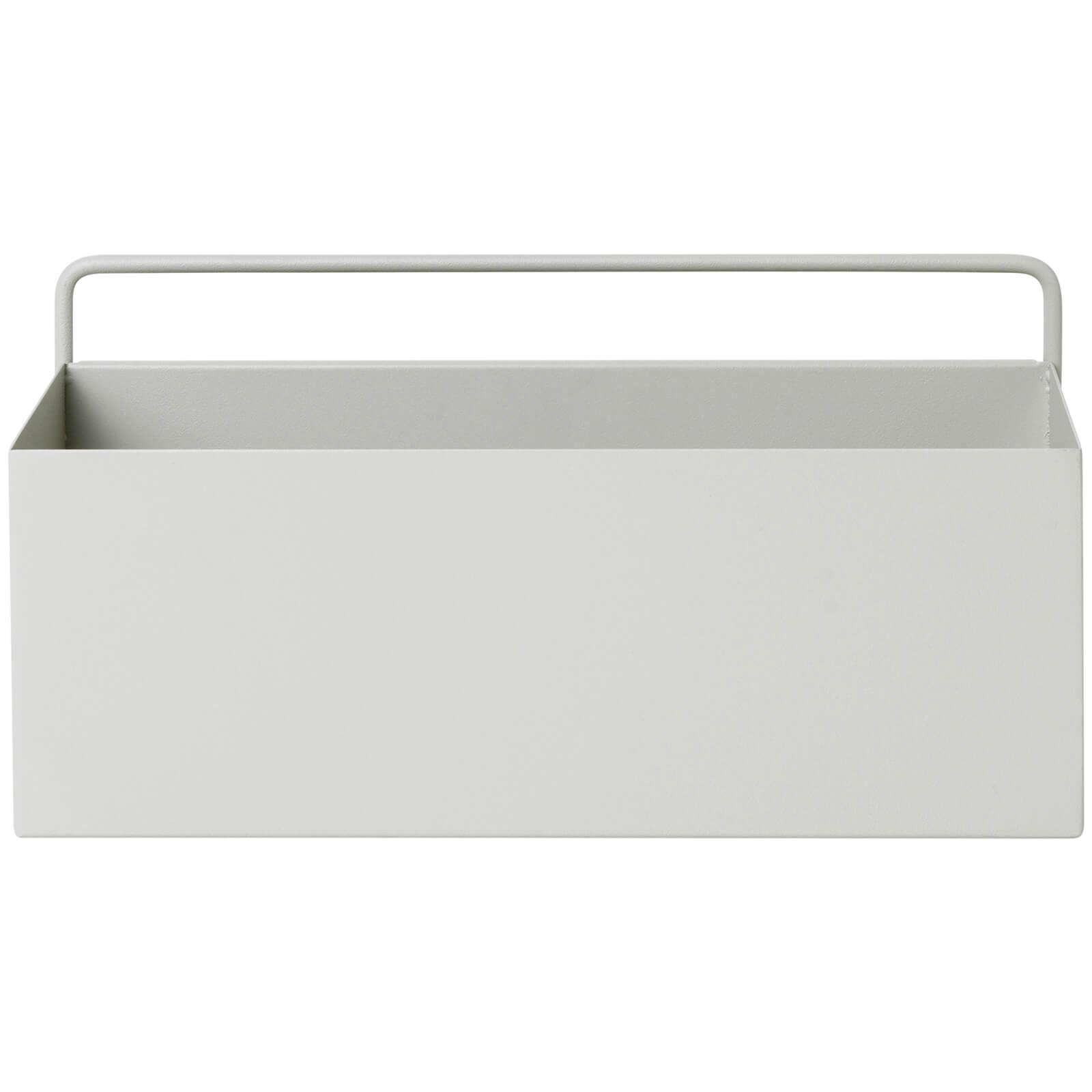 Ferm Living Wall Box - Rectangle - Light Grey
