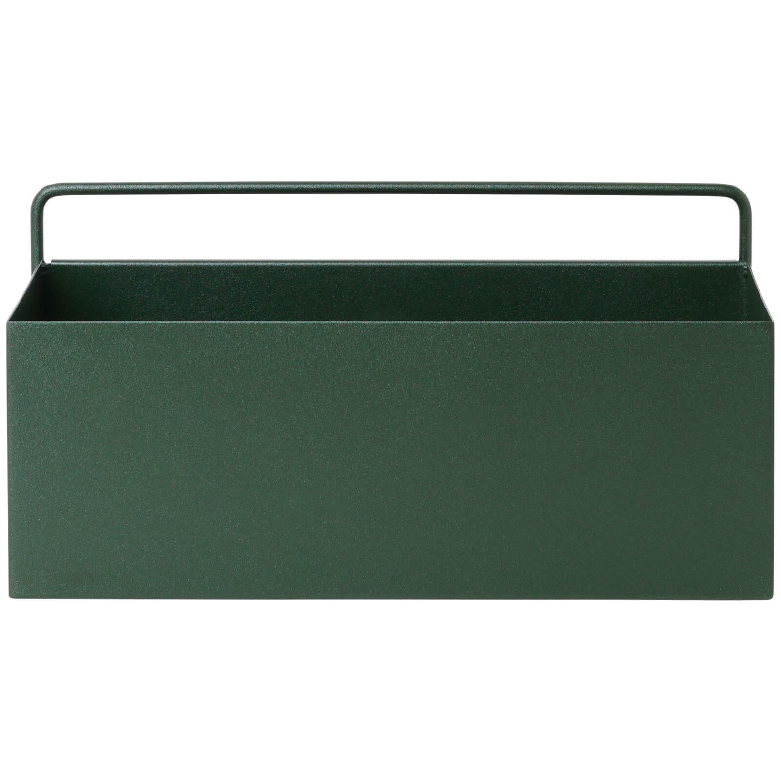 Ferm Living Wall Box - Rectangle - Dark Green