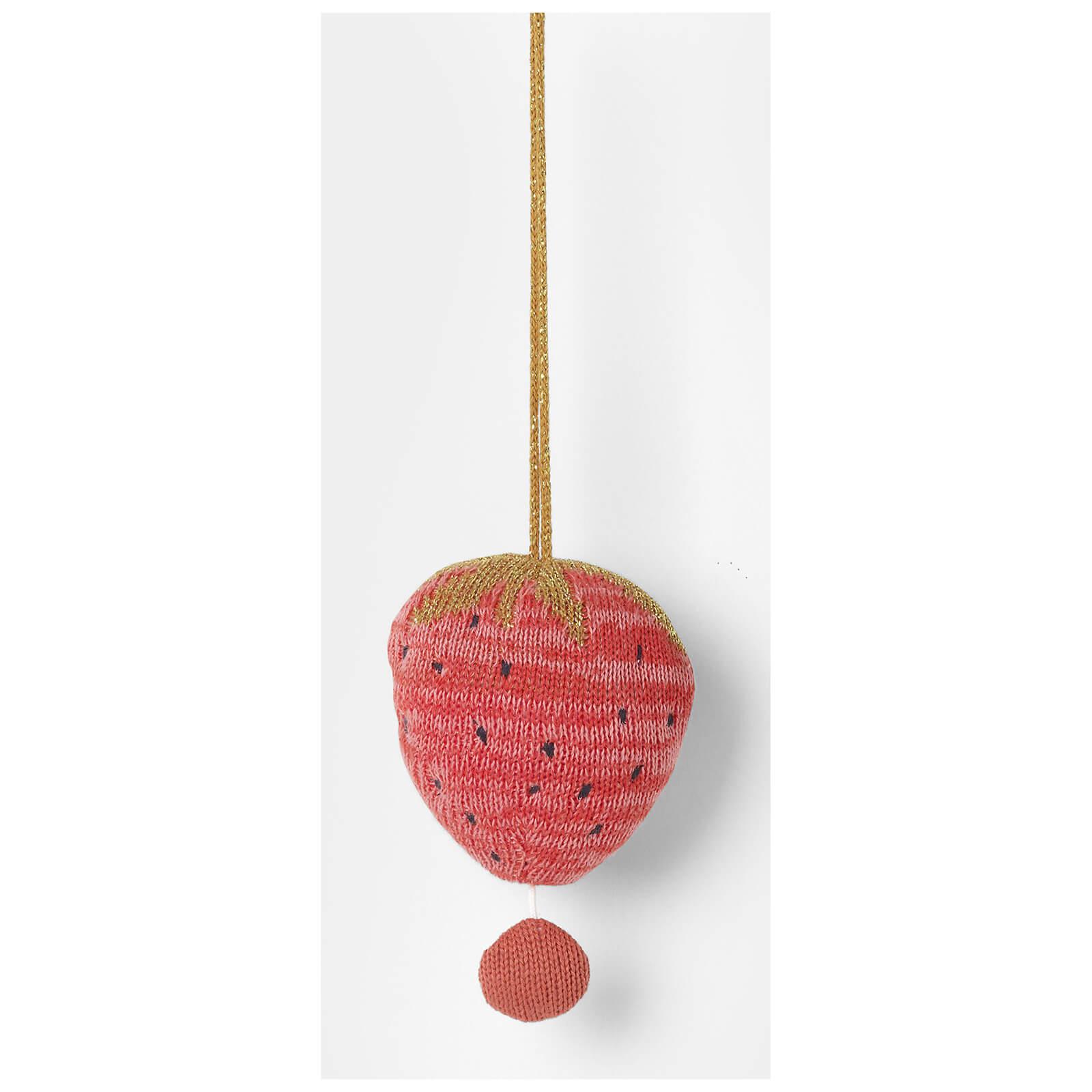 Ferm Living Fruiticana Strawberry Music Mobile