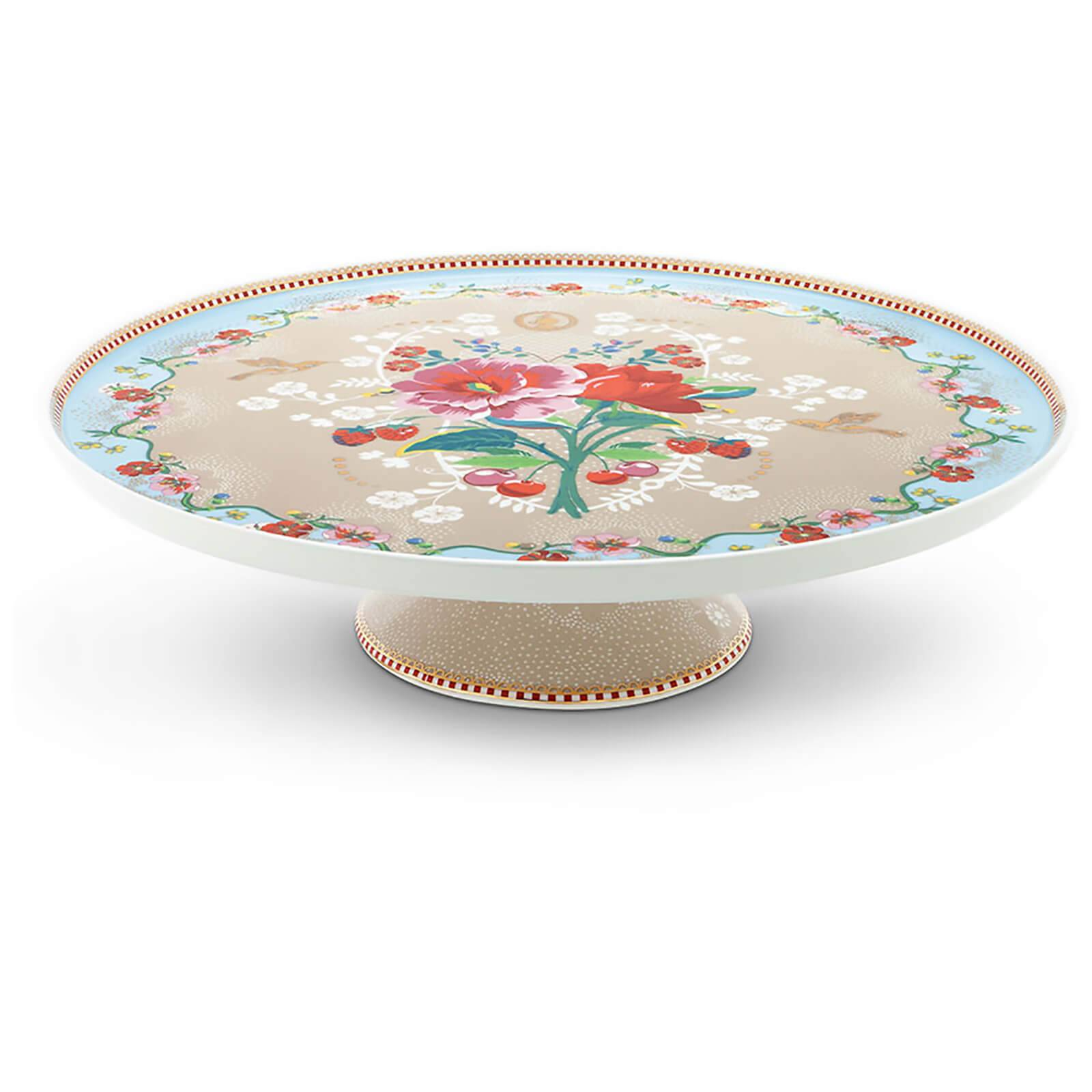 Pip Studio Rose Cake Tray - Khaki