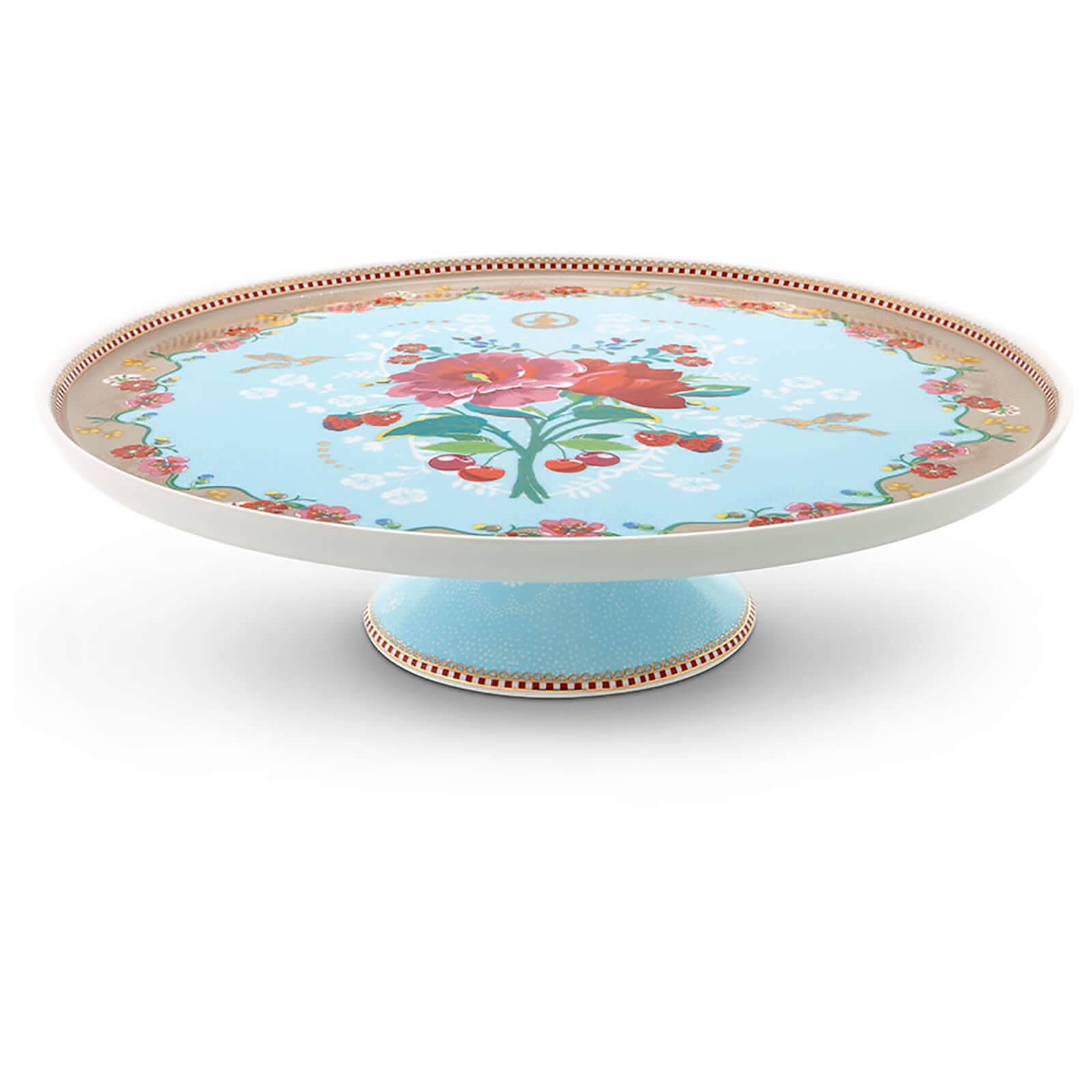 Pip Studio Rose Cake Tray - Blue