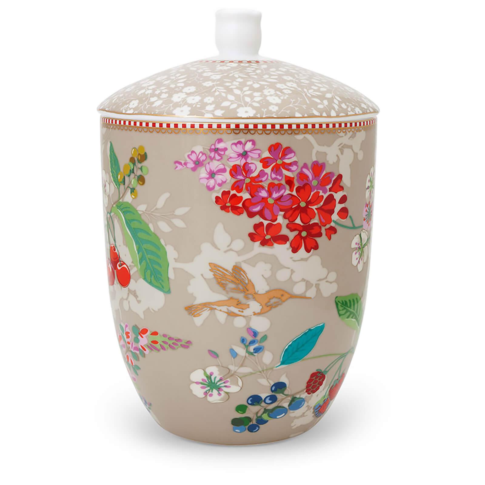 Pip Studio Hummingbird Storage Jar - Khaki
