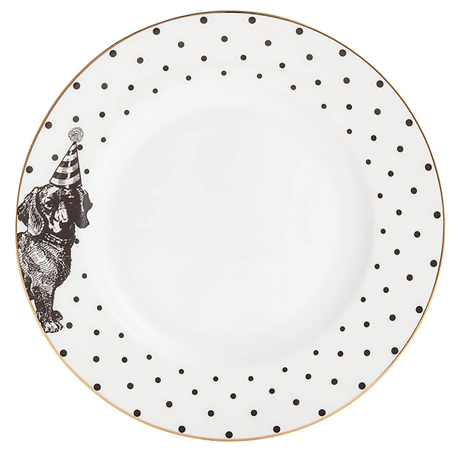 Yvonne Ellen Party Pup Side Plate - White