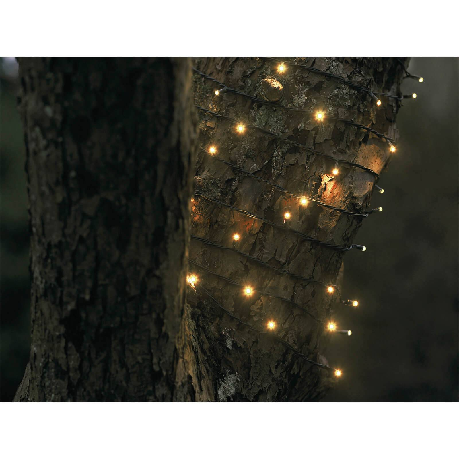 Sirius David Indoor and Outdoor Chain Lights - 200 LED - 30m