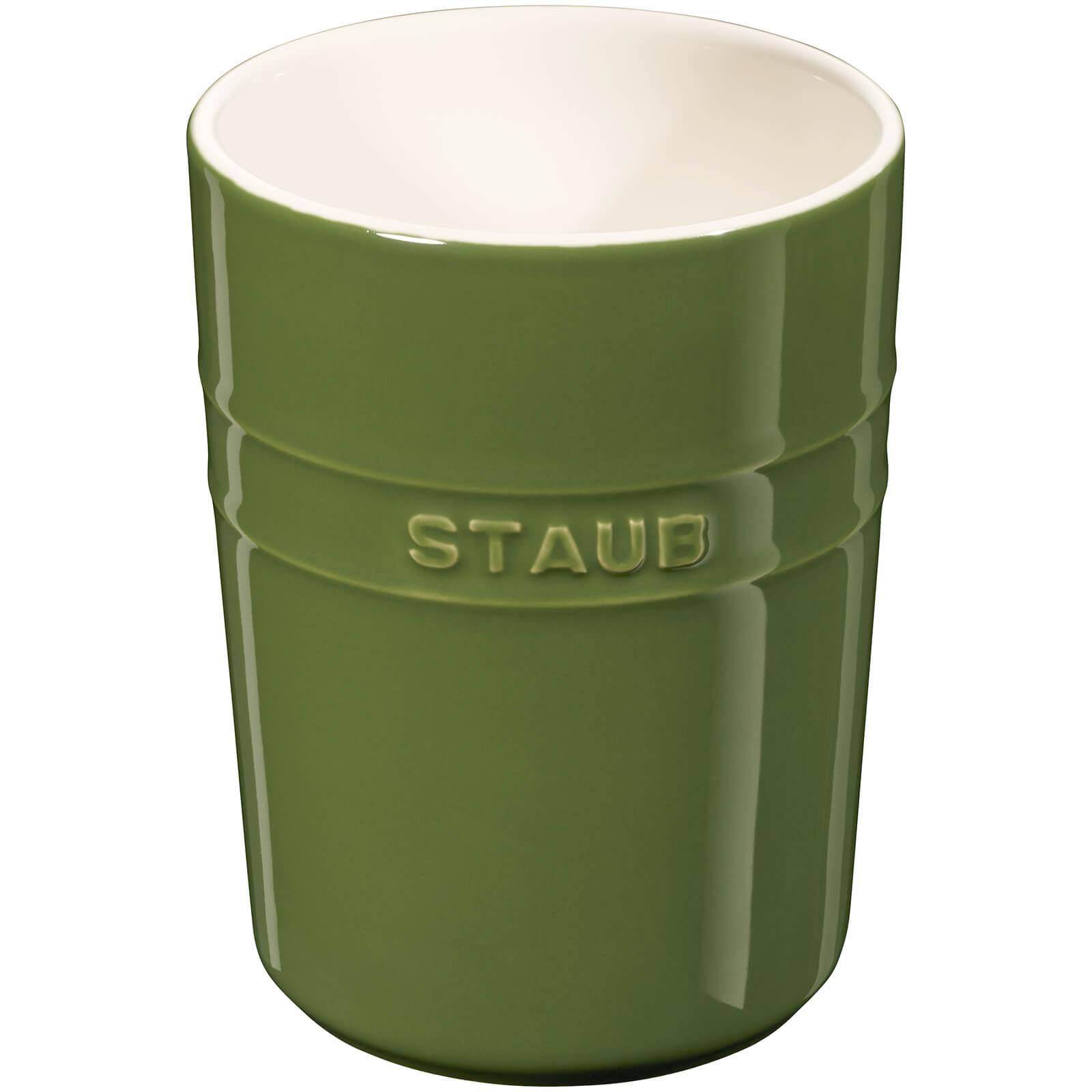 Staub Ceramic Round Utensil Holder - Basil