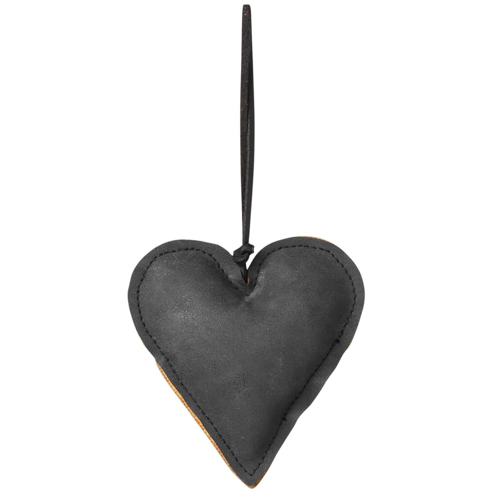 Broste Copenhagen Fade Christmas Ornament - Black - Heart