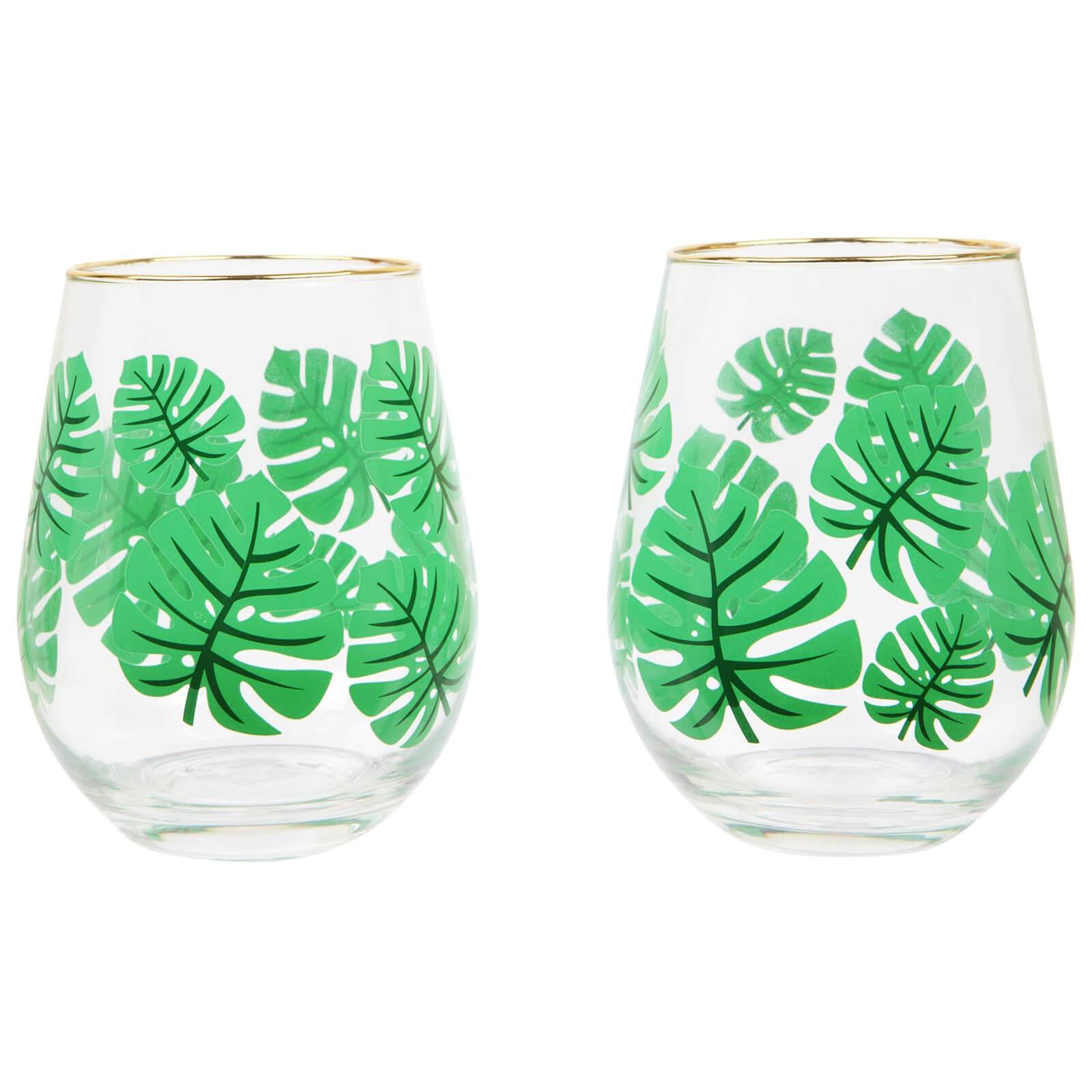 Sunnylife Stemless Cocktail Glasses - Monteverde
