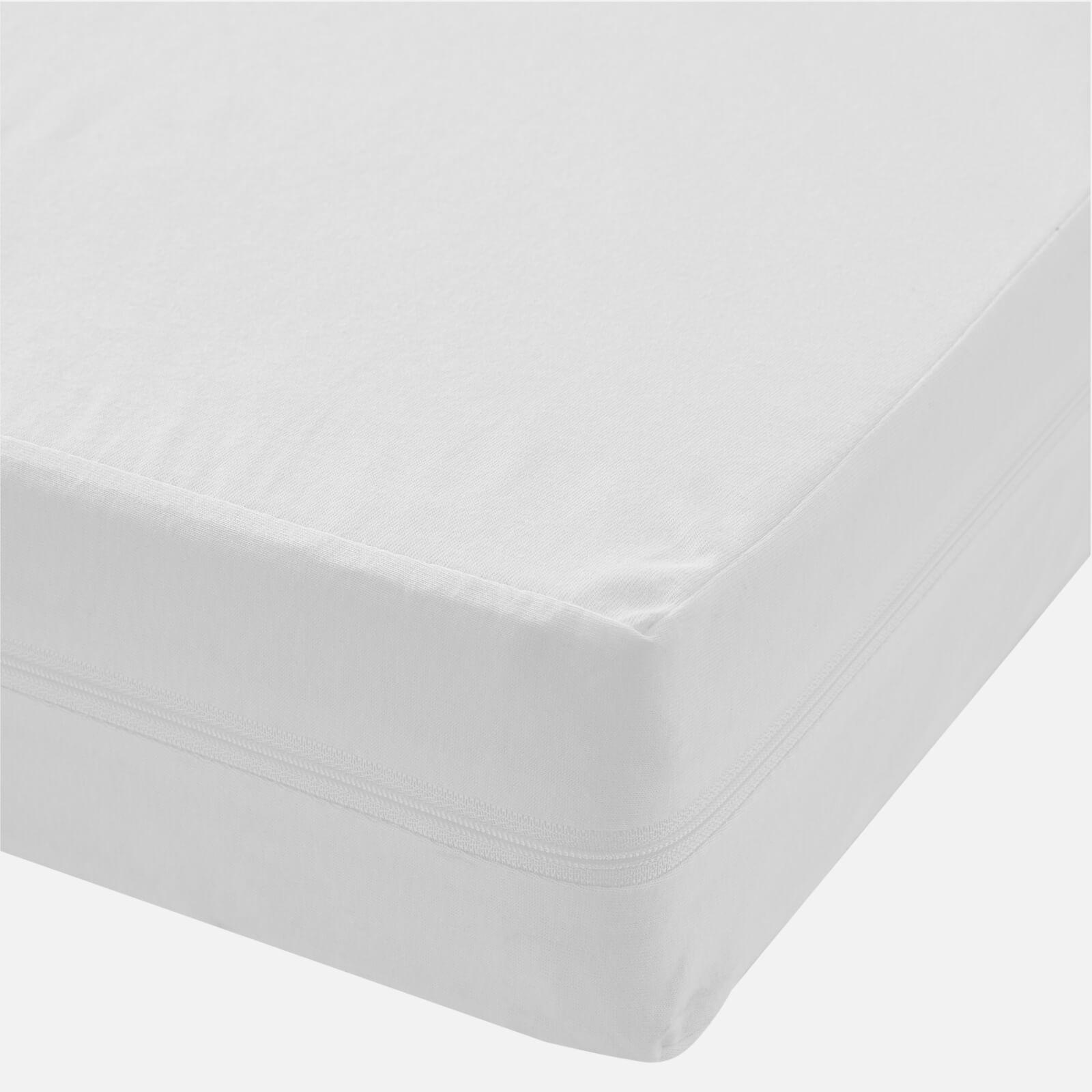 in homeware Anti-Allergy Mattress Protector - White - Cot