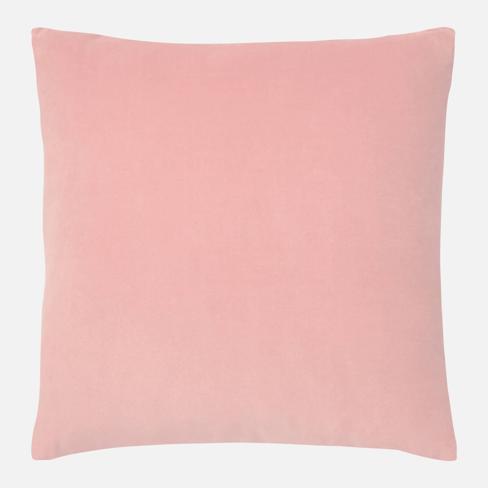 in homeware Cotton Velvet Cushion - Pink