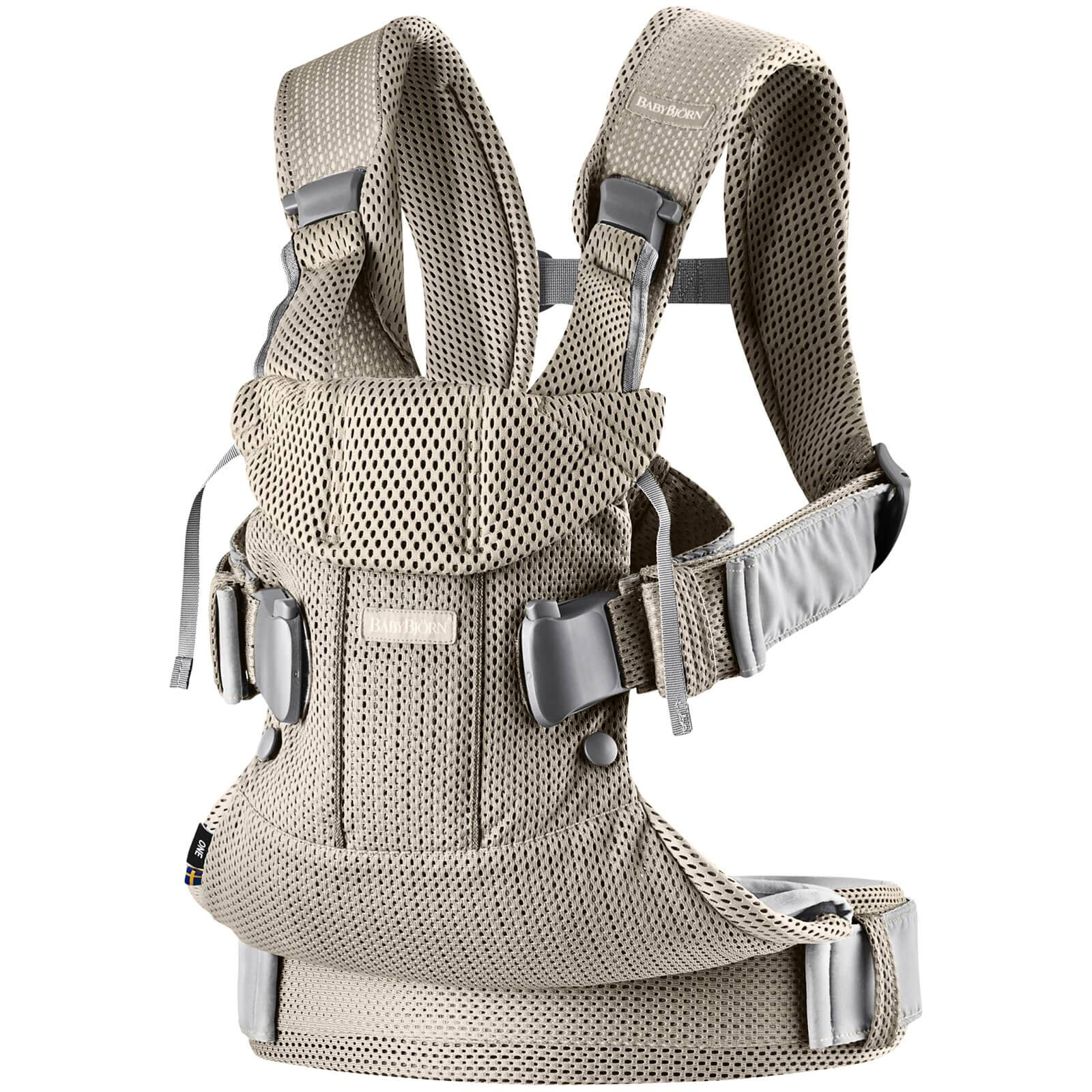 BABYBJÖRN Baby One Air 3D Mesh Carrier - Greige