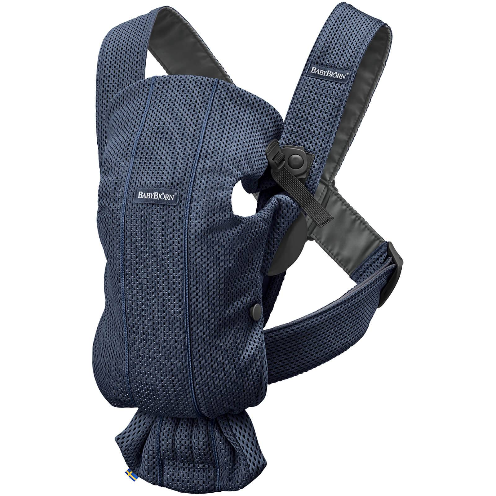 BABYBJÖRN Baby Mini 3D Mesh Carrier - Navy Blue