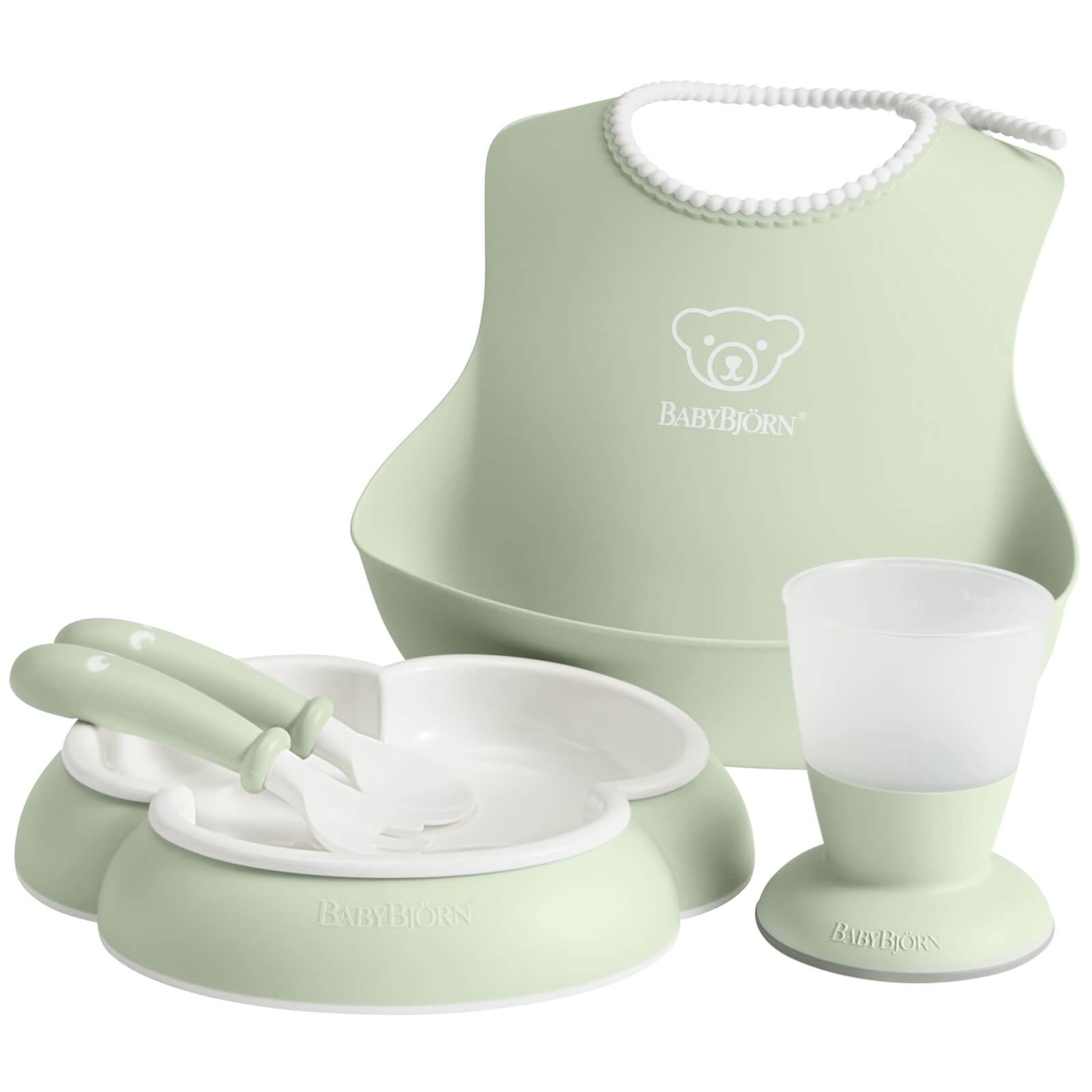 BABYBJÖRN Baby Dinner Set - Powder Green