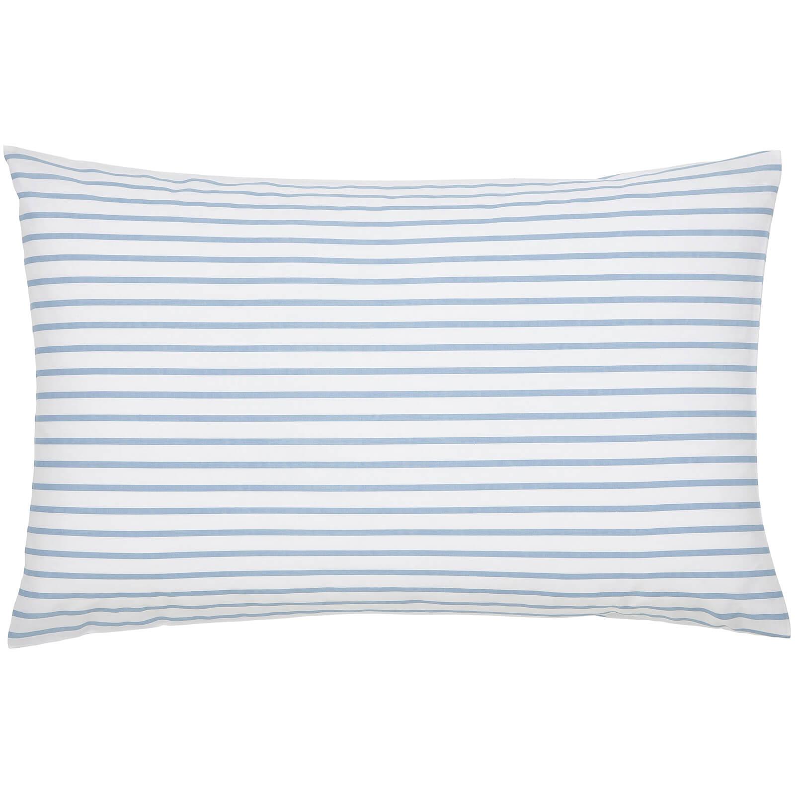 Joules Garden Dogs Standard Pillowcase - White