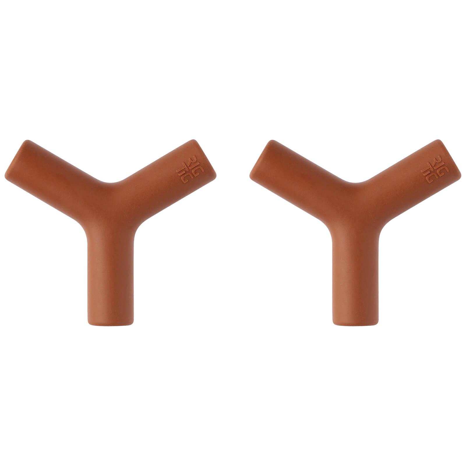 RIG-TIG Hang-It Knobs Set of 2 - Terracotta