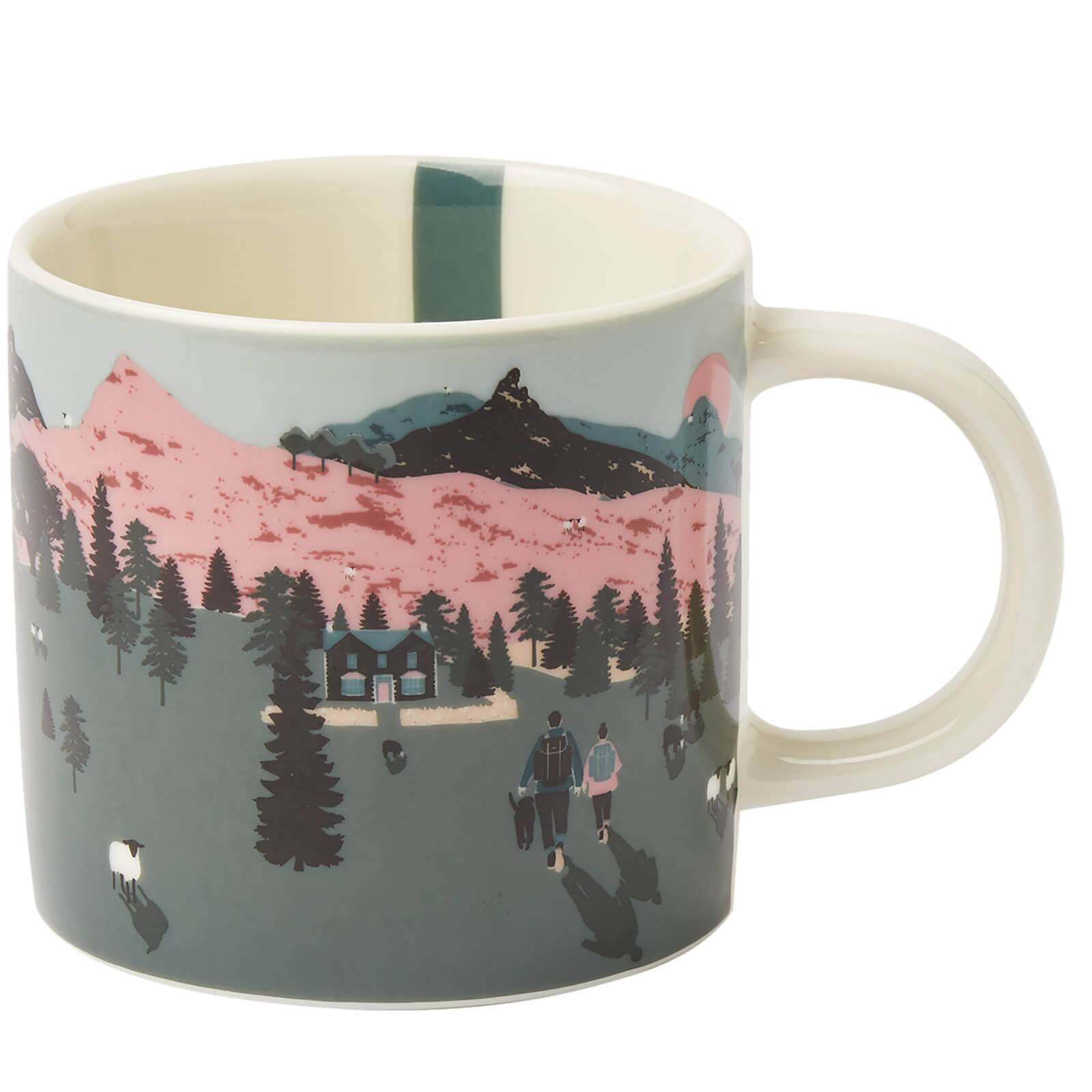 Joules White Dawn Mug