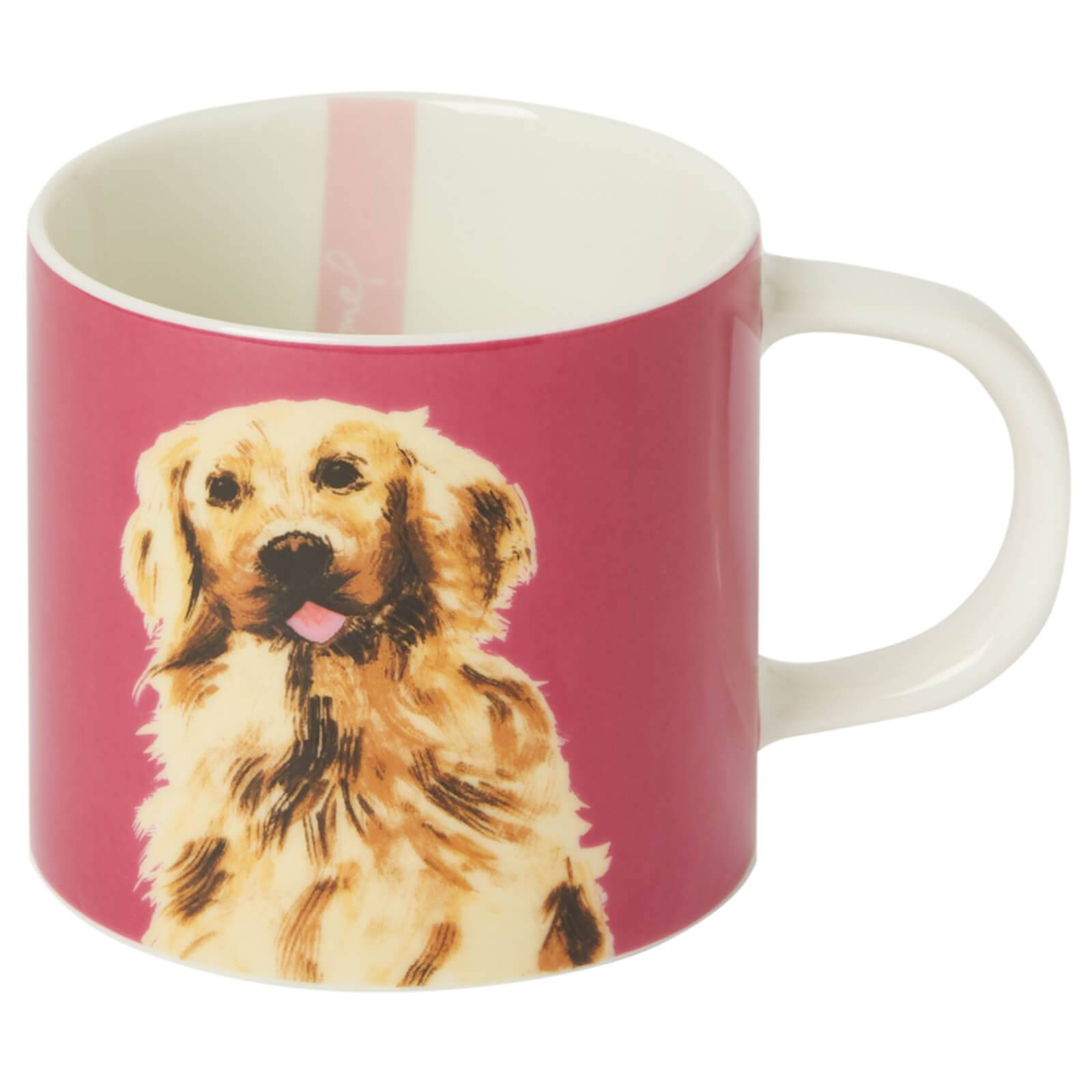 Joules Golden Dog Mug