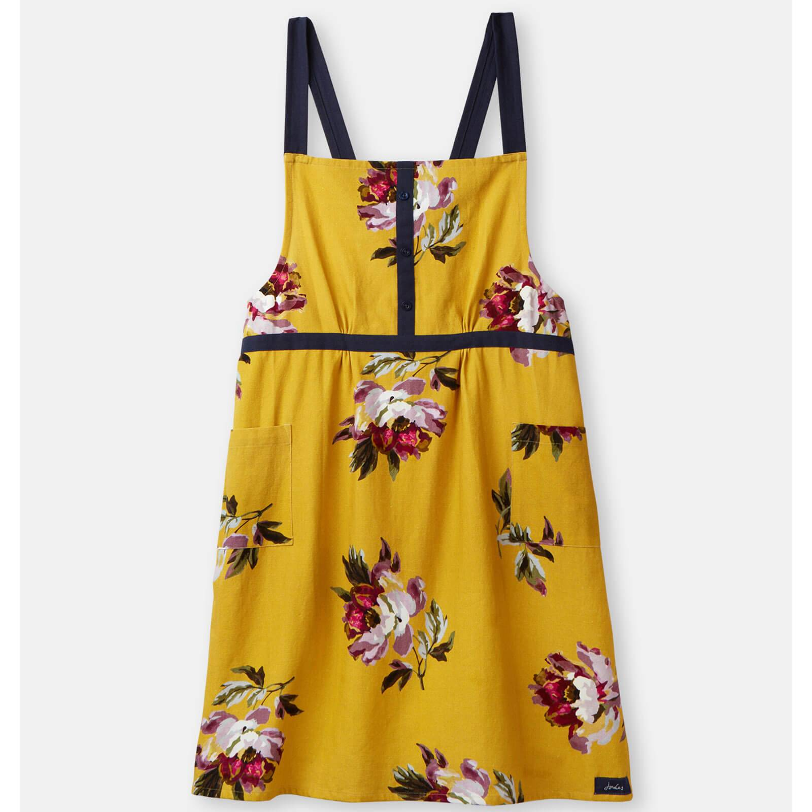 Joules All Over Floral Crossover Apron