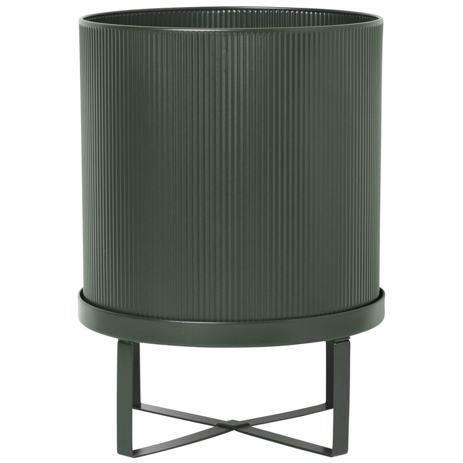 Ferm Living Bau Pot - Large - Dark Green