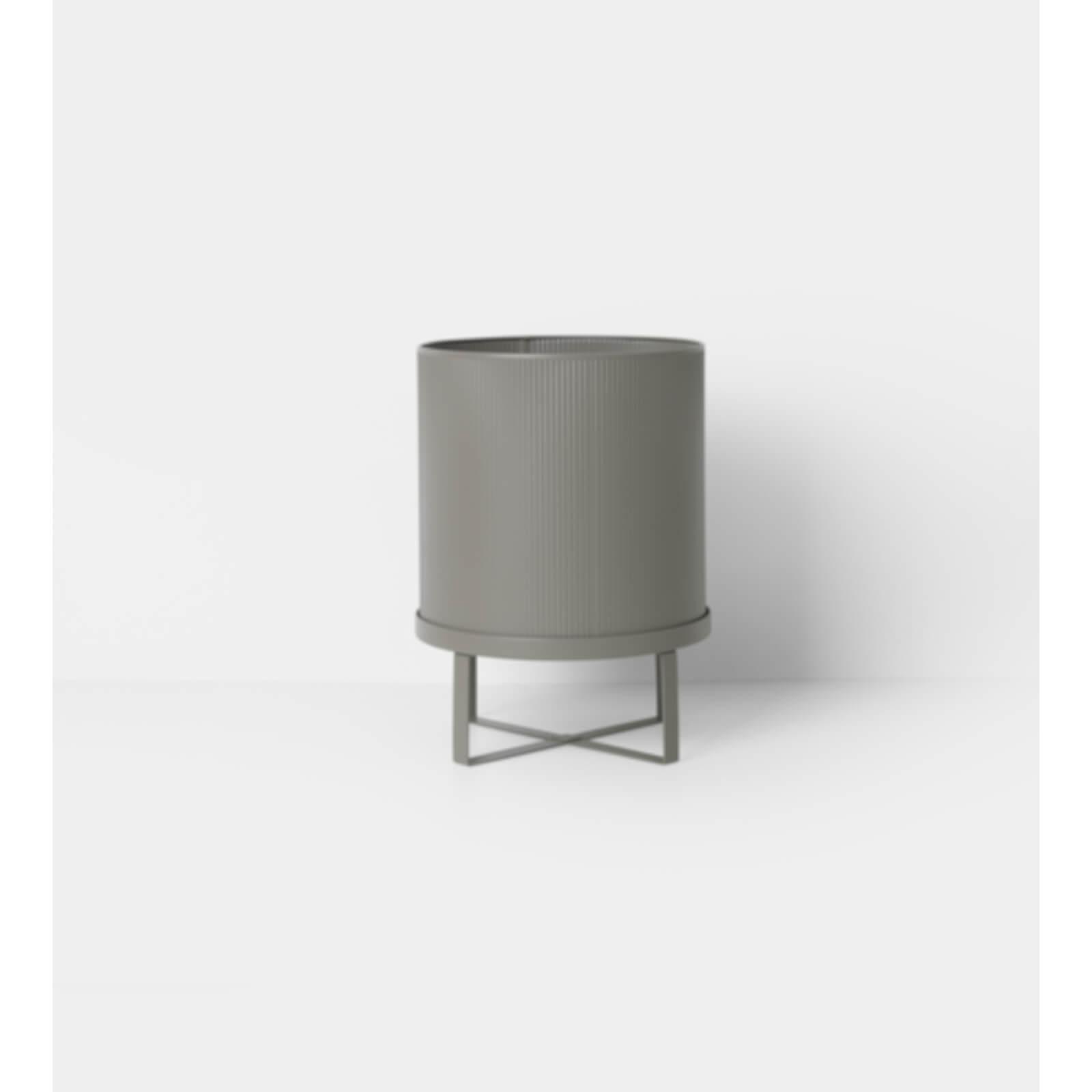 Ferm Living Bau Pot - Large - Warm Grey