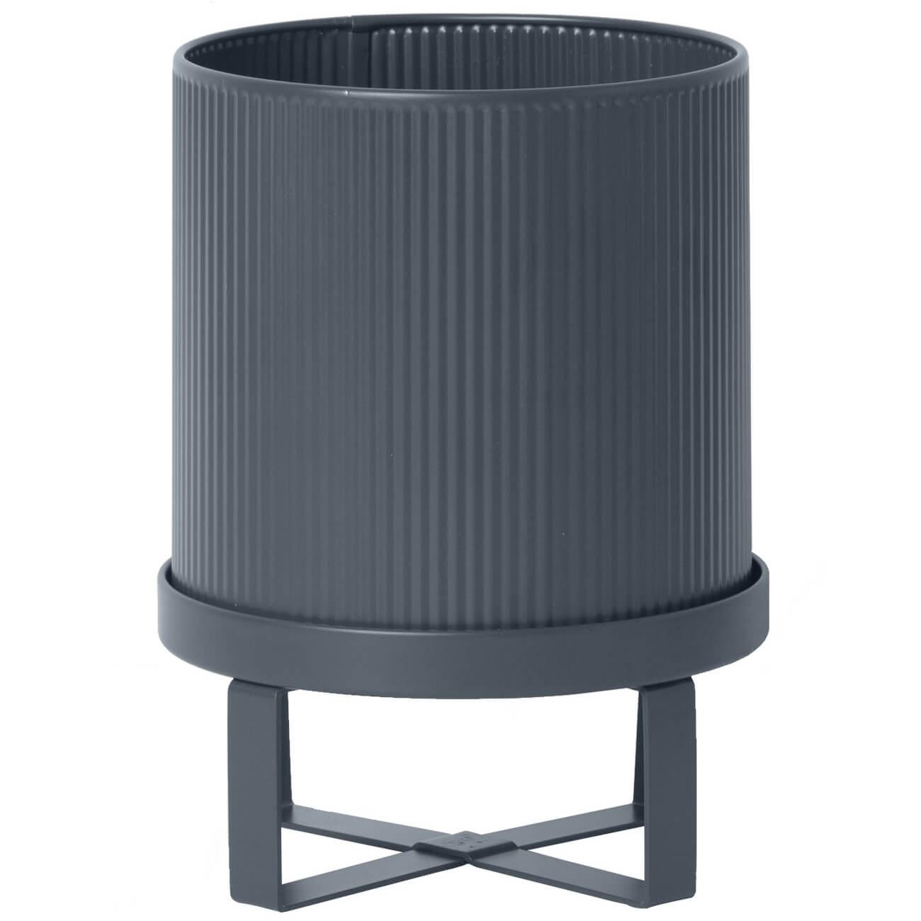 Ferm Living Bau Pot - Small - Dark Blue